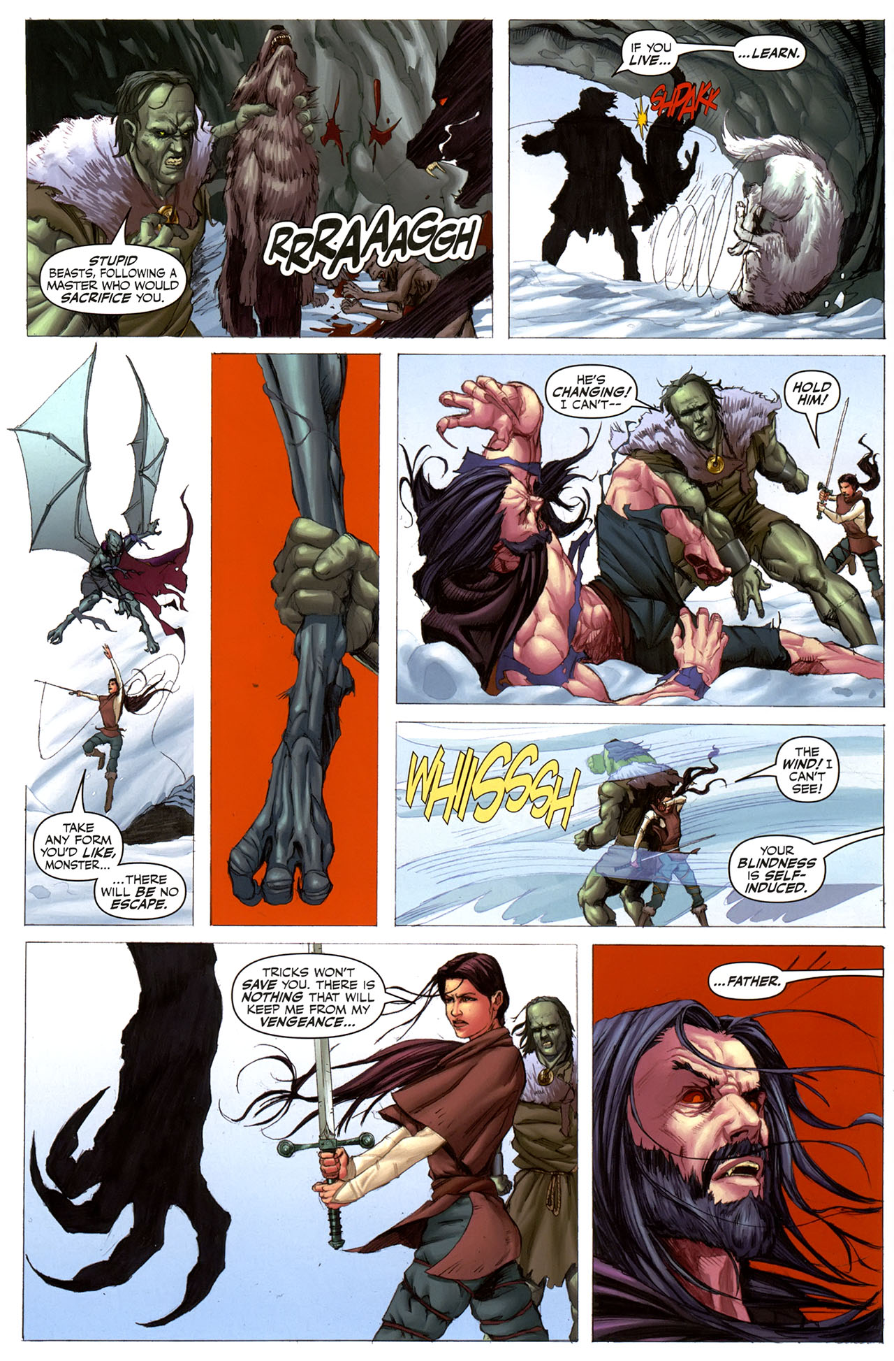 Read online Eva: Daughter of the Dragon comic -  Issue # Full - 12