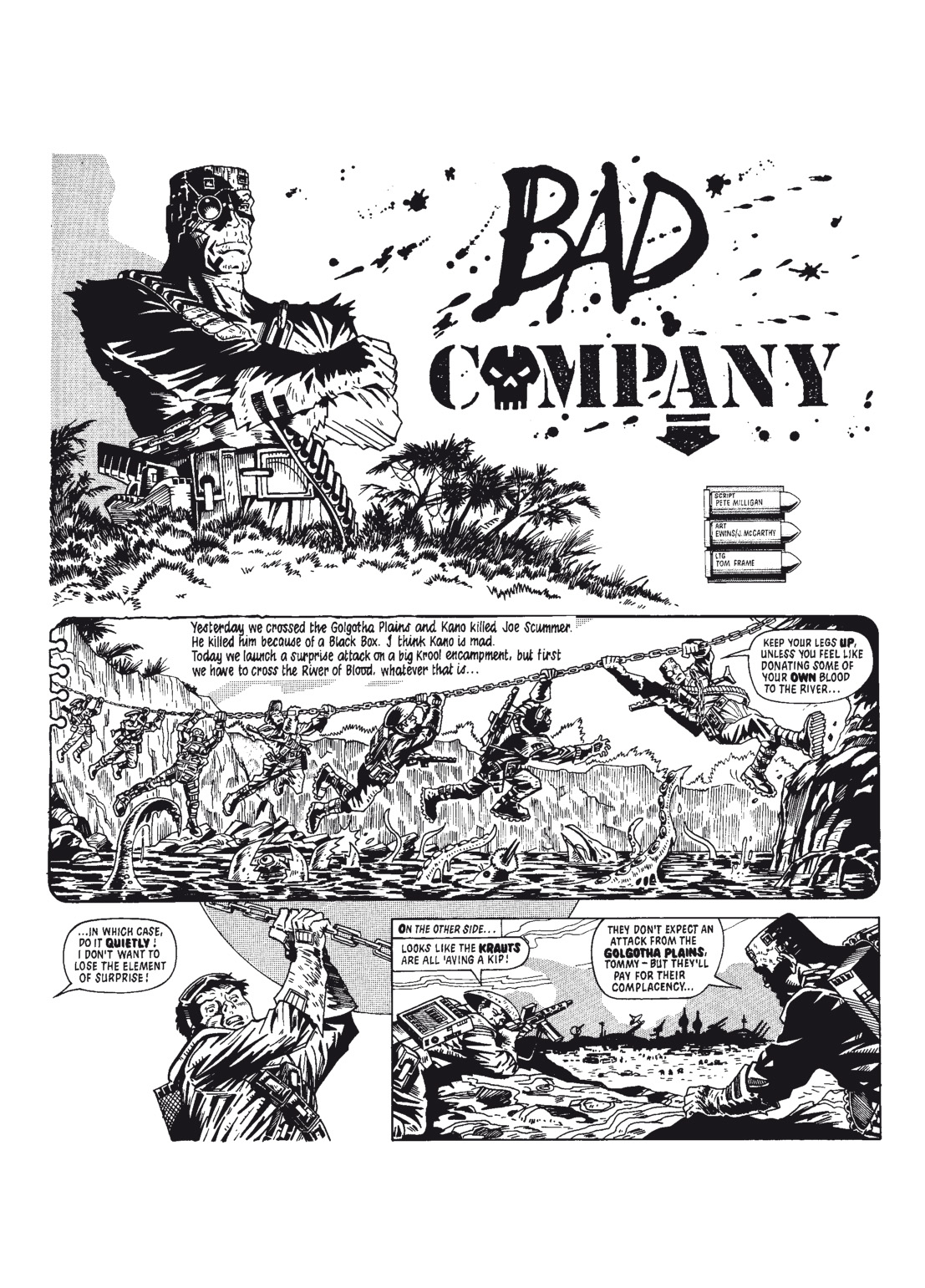Read online The Complete Bad Company comic -  Issue # TPB - 29