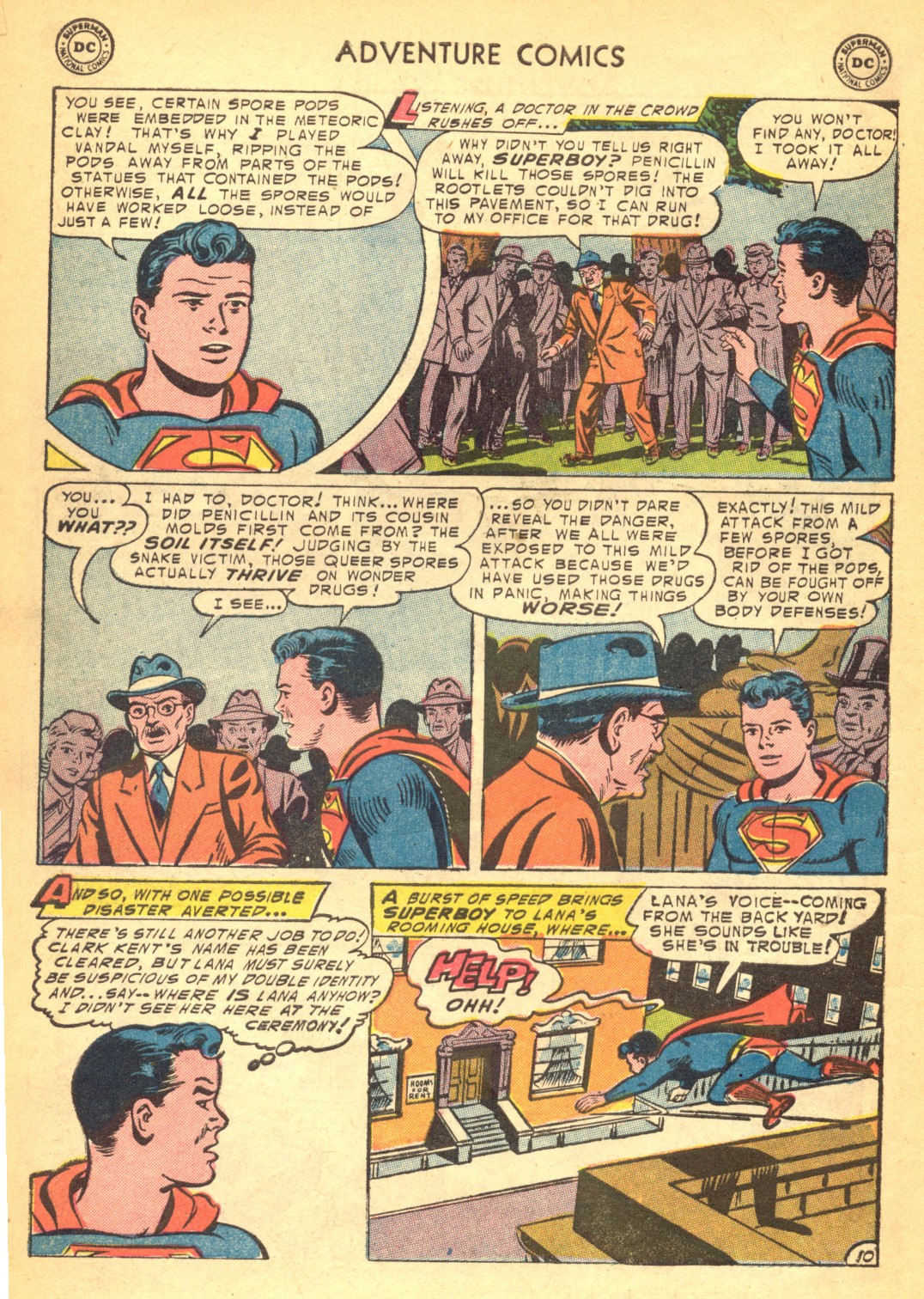 Read online Adventure Comics (1938) comic -  Issue #202 - 12