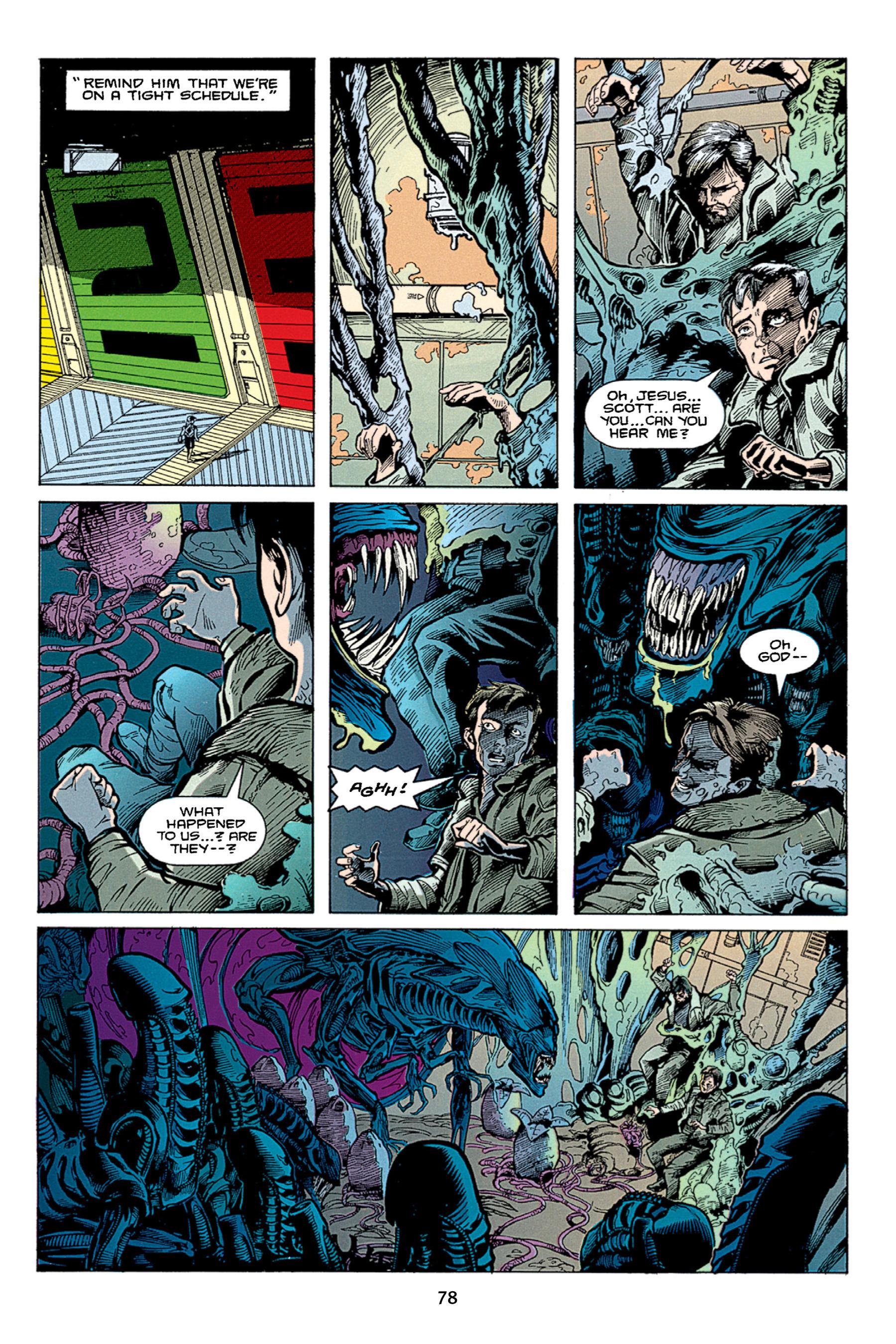 Read online Aliens vs. Predator Omnibus comic -  Issue # _TPB 1 Part 1 - 78