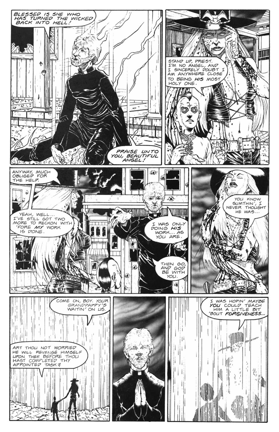 Read online Gunfighters in Hell comic -  Issue #5 - 36