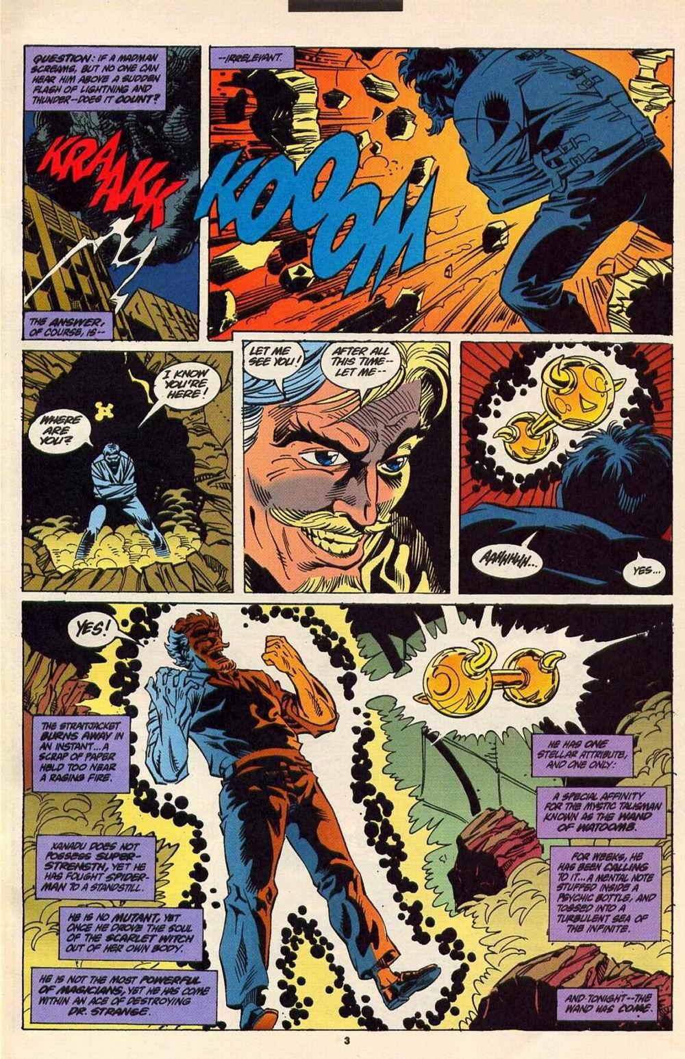 Read online Secret Defenders comic -  Issue #6 - 4