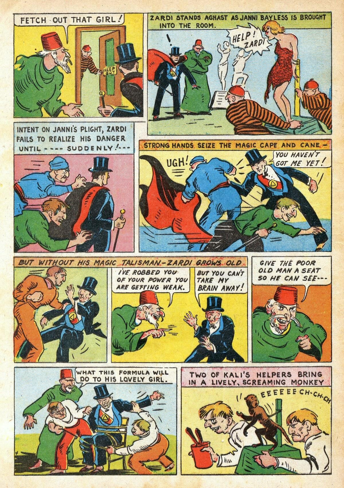Read online Amazing Man Comics comic -  Issue #16 - 62
