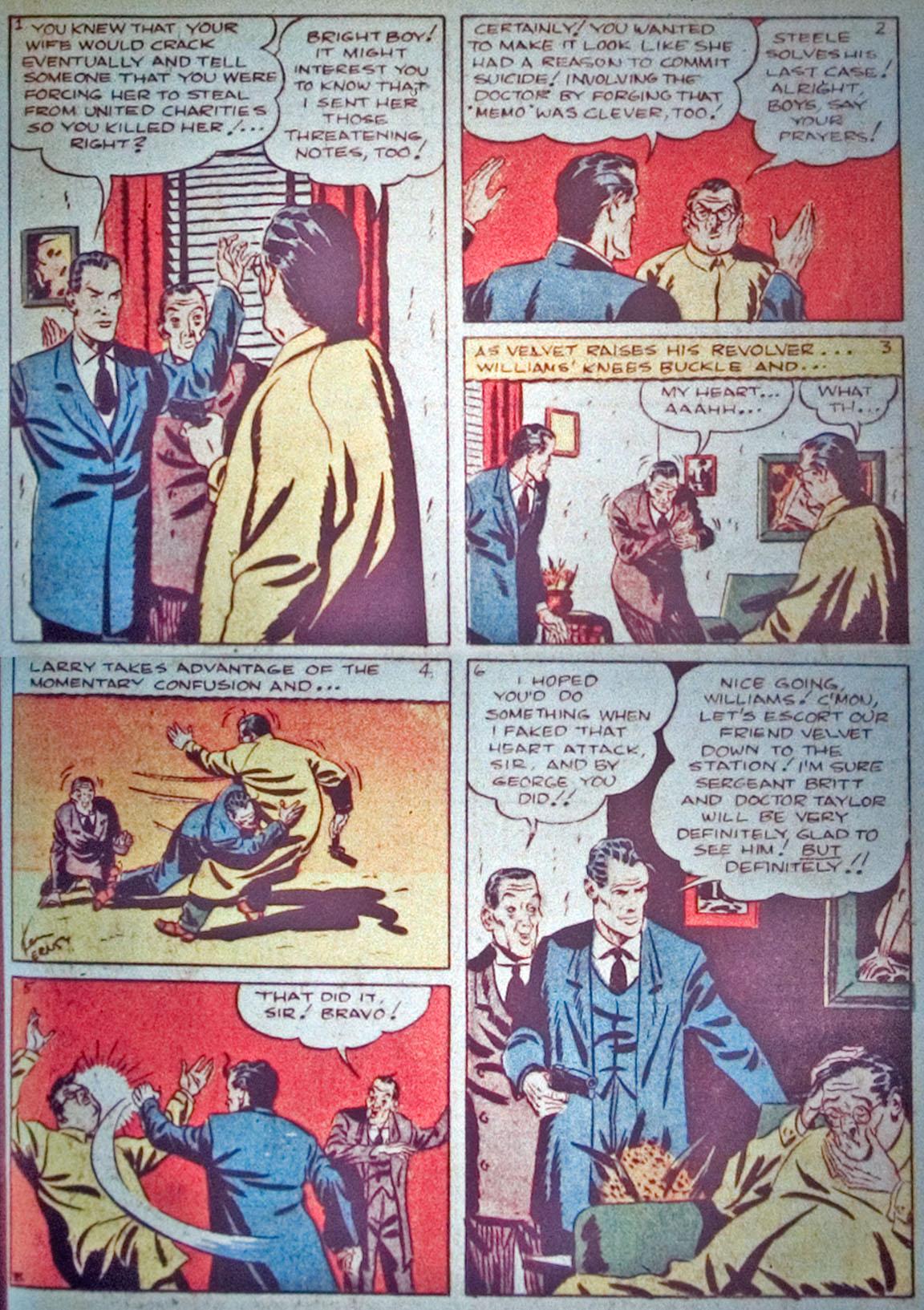 Read online Detective Comics (1937) comic -  Issue #31 - 33