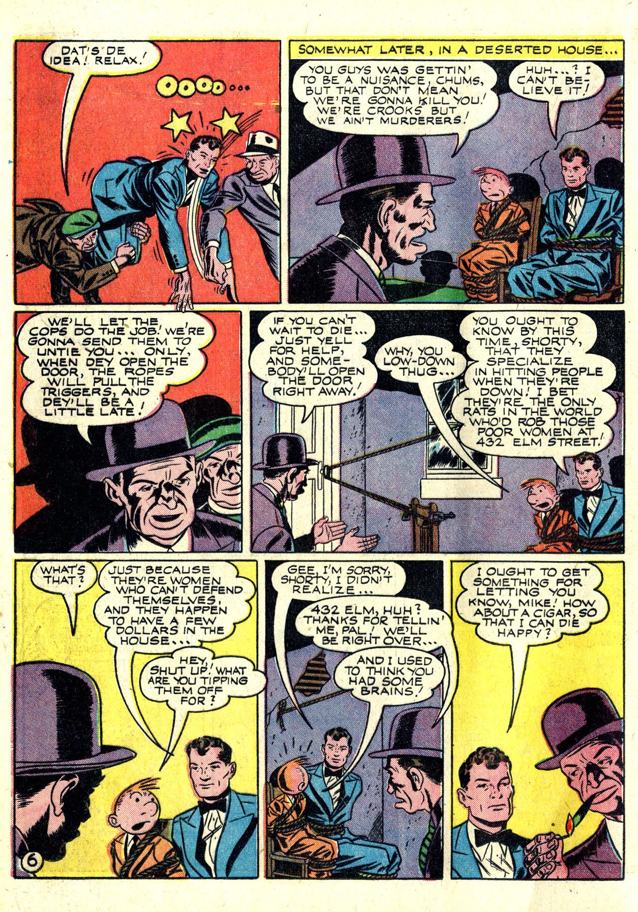 Read online Detective Comics (1937) comic -  Issue #78 - 22