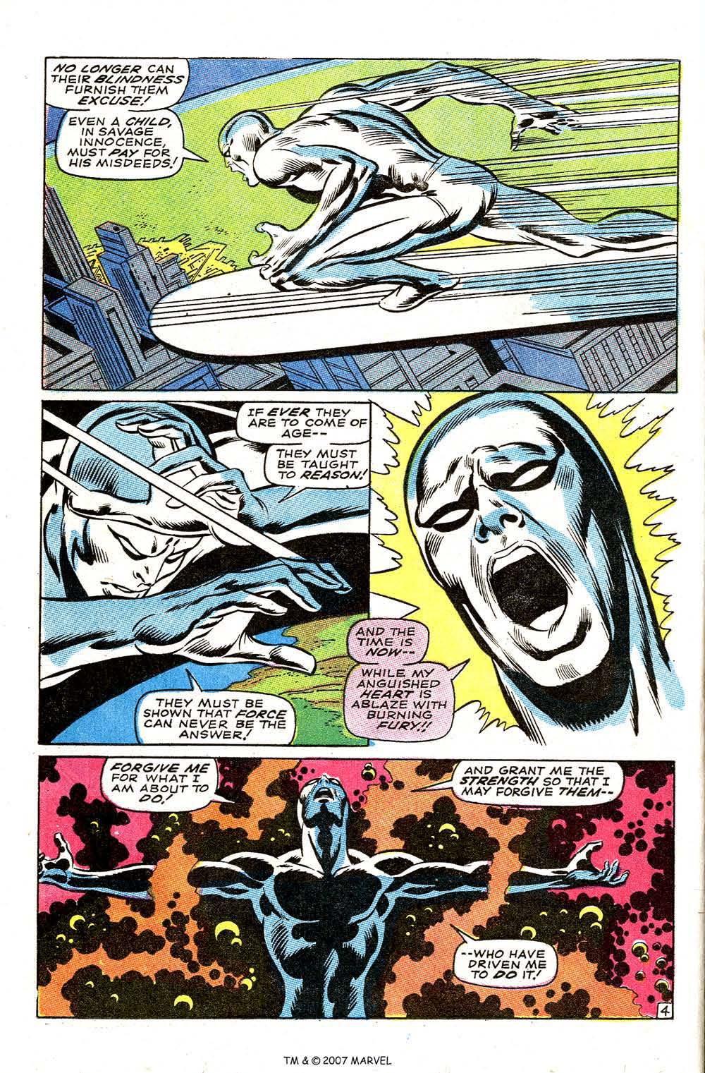Silver Surfer (1968) issue 3 - Page 6