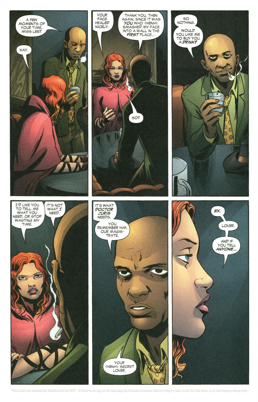 Read online Fallen Angel (2003) comic -  Issue #14 - 9