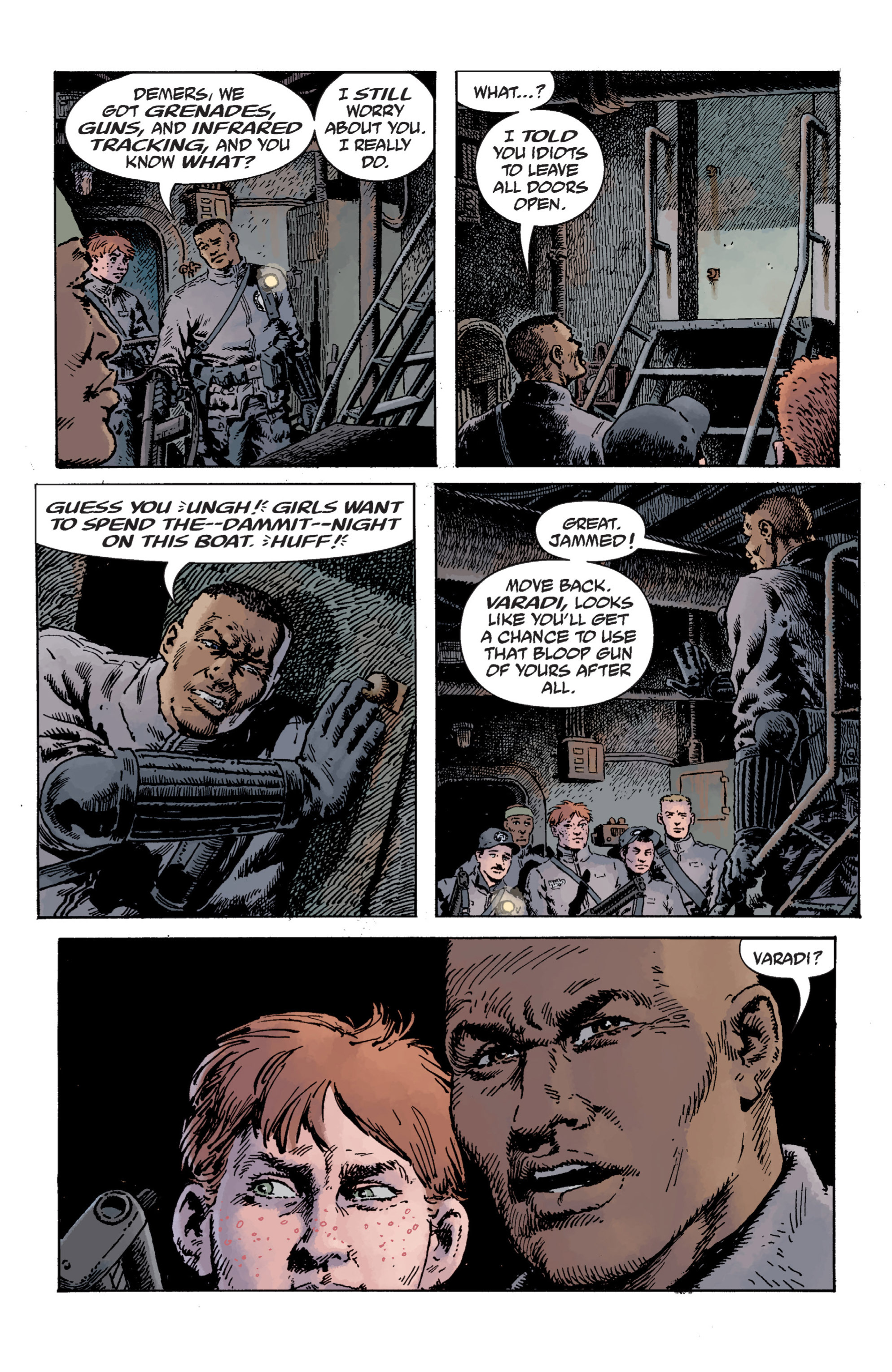 Read online B.P.R.D. (2003) comic -  Issue # TPB 12 - 64