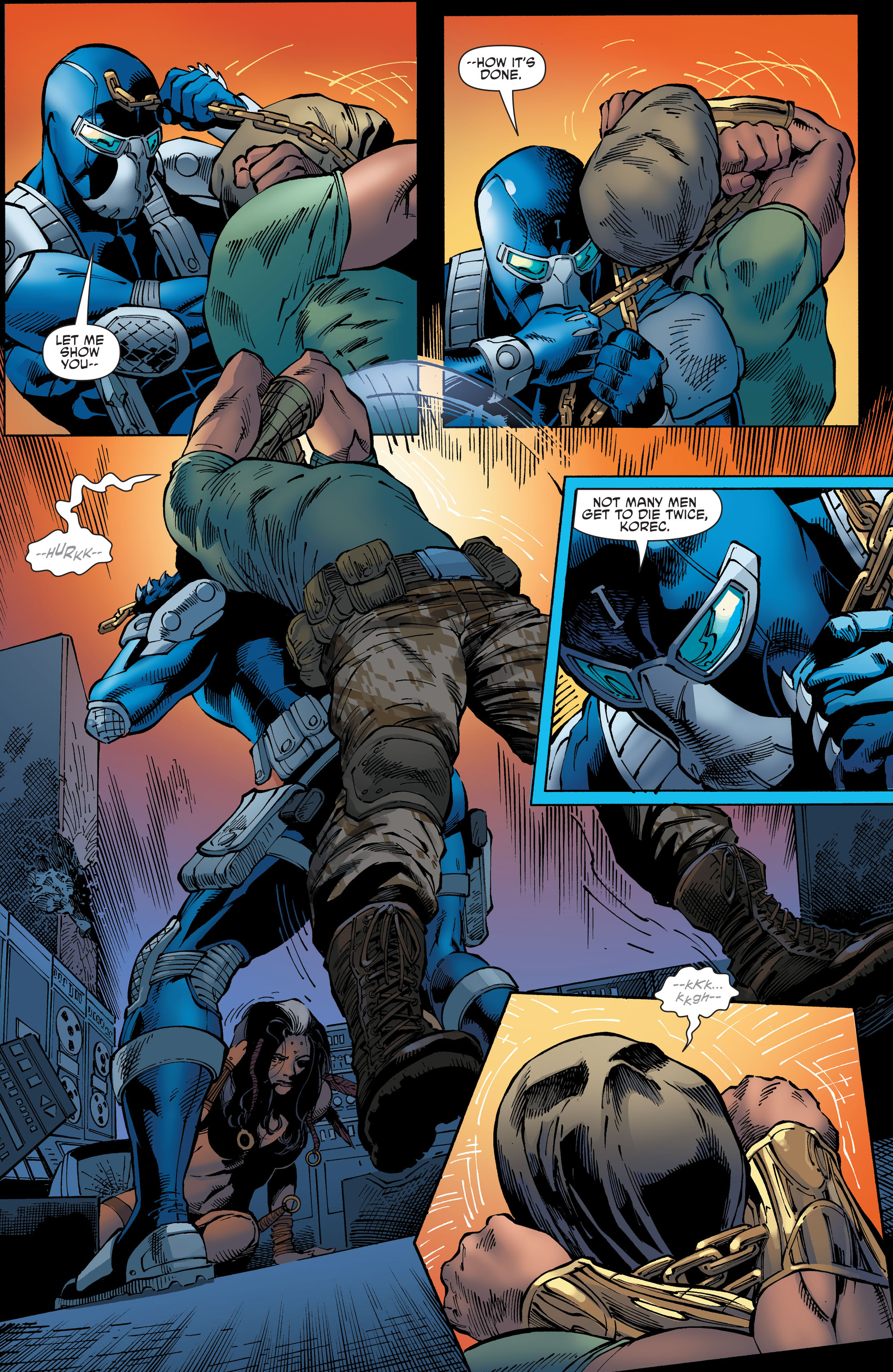 Read online Aquaman and the Others comic -  Issue #9 - 5