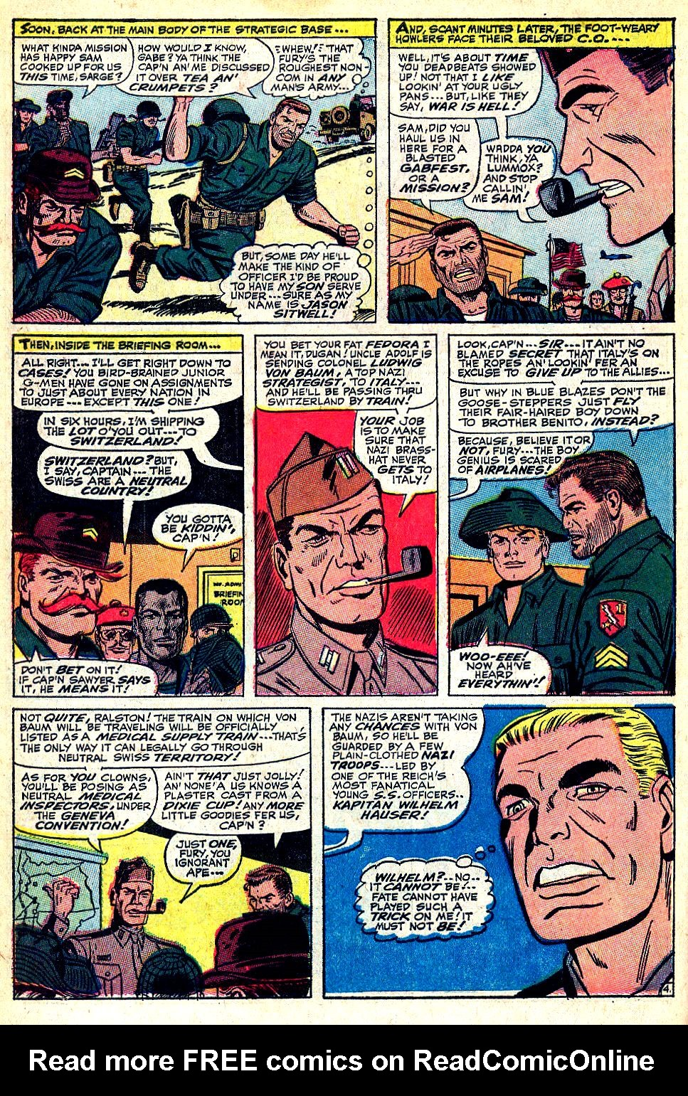 Read online Sgt. Fury comic -  Issue #36 - 6