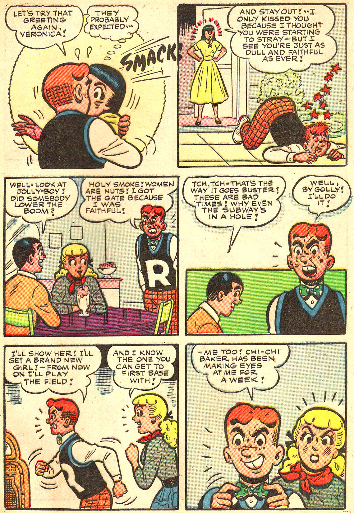 Read online Archie's Girls Betty and Veronica comic -  Issue #Archie's Girls Betty and Veronica Annual 1 - 55