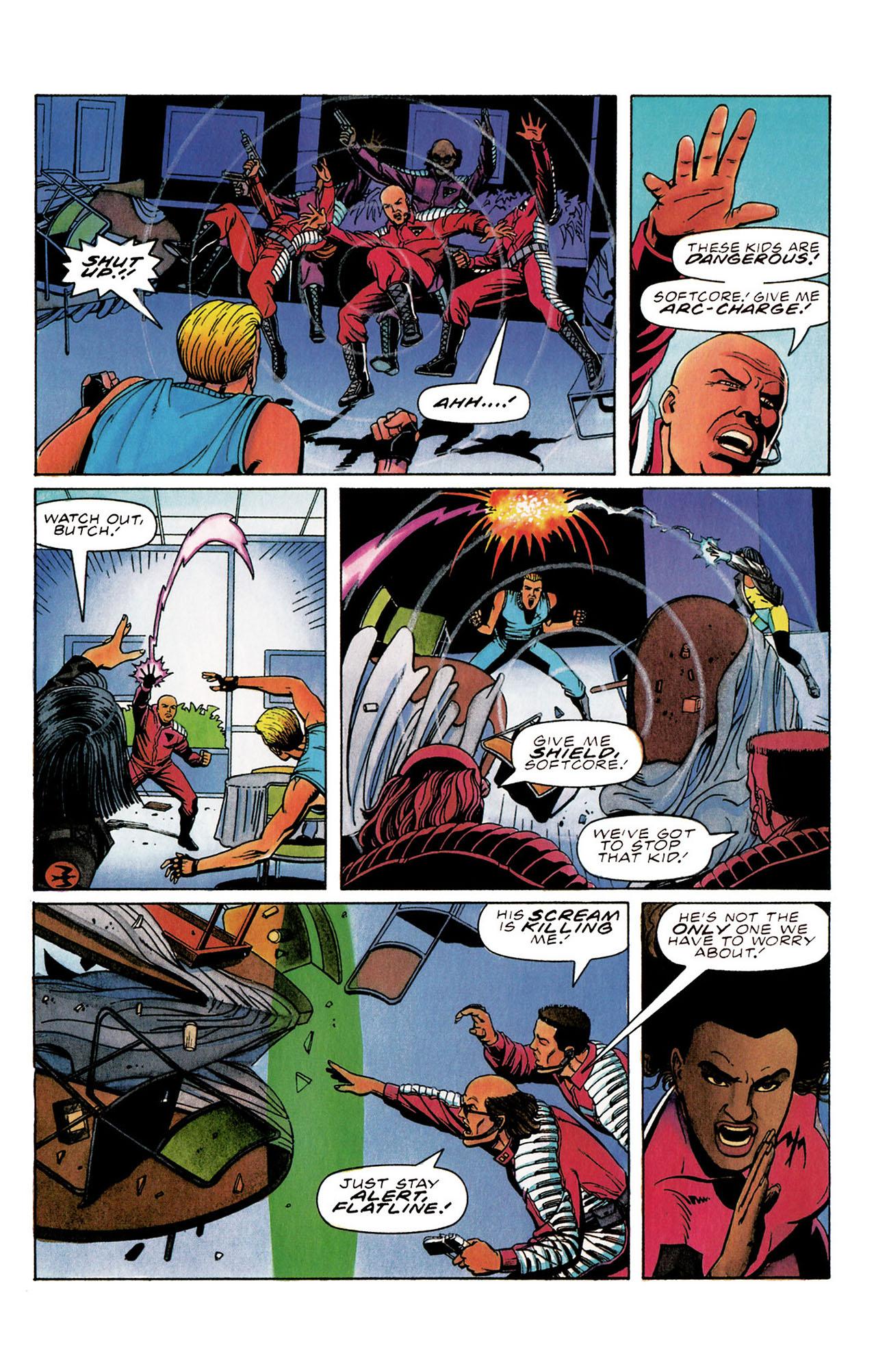 Read online Harbinger (1992) comic -  Issue #30 - 17