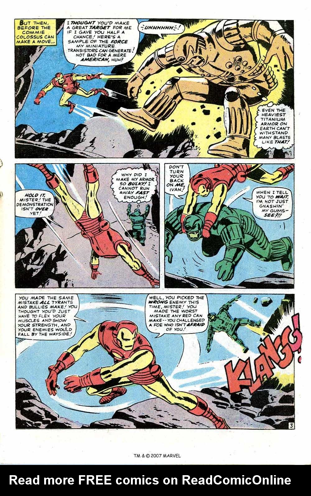 Iron Man Annual issue 1 - Page 5