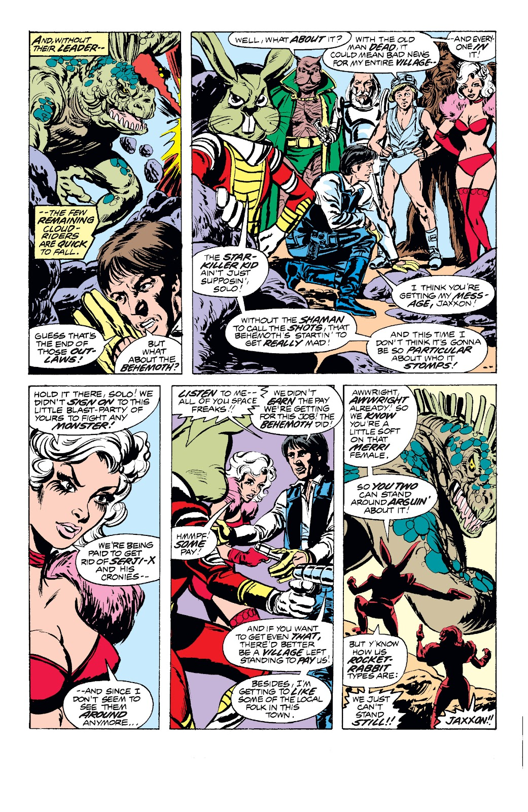Read online Star Wars Legends: The Original Marvel Years - Epic Collection comic -  Issue # TPB 1 (Part 2) - 78