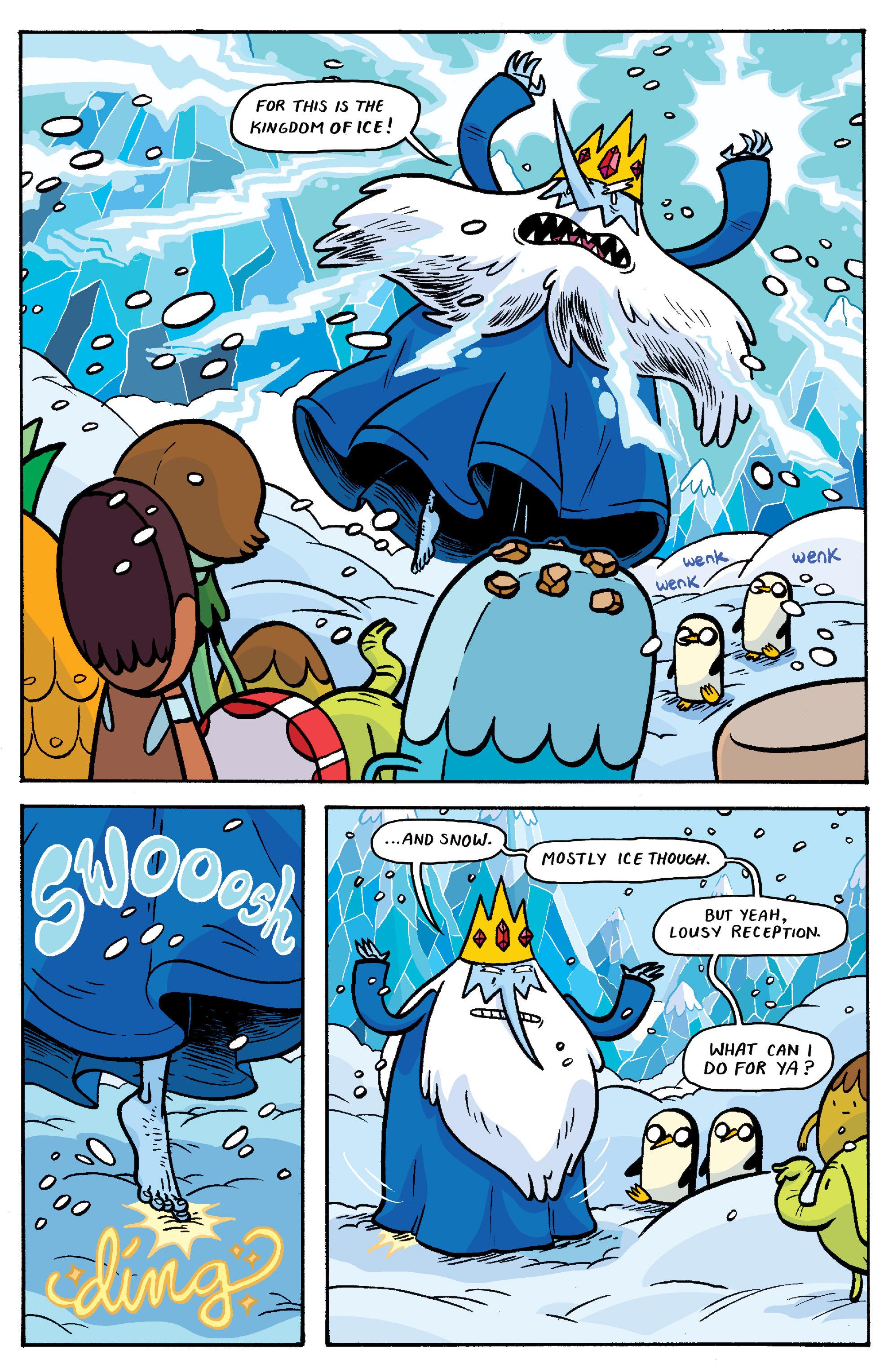 Read online Adventure Time: Banana Guard Academ comic -  Issue #3 - 9
