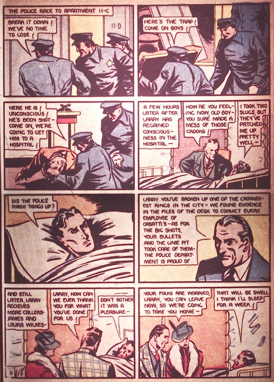Read online Detective Comics (1937) comic -  Issue #12 - 15