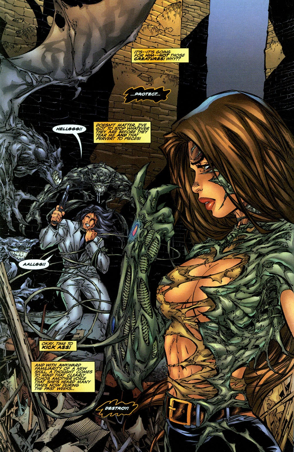 Read online The Darkness (1996) comic -  Issue #0 - 20