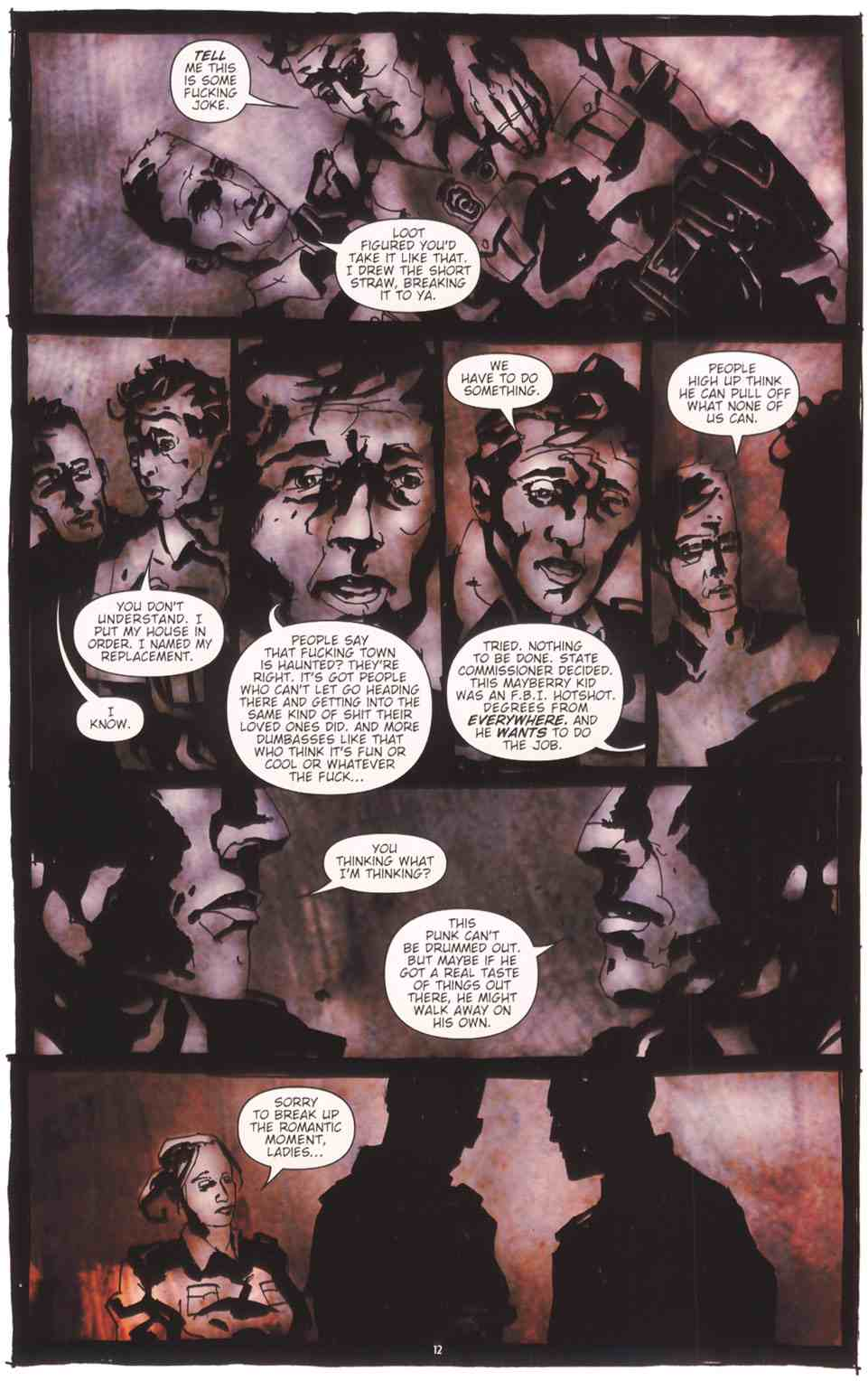 Read online Silent Hill: The Grinning Man comic -  Issue # Full - 14