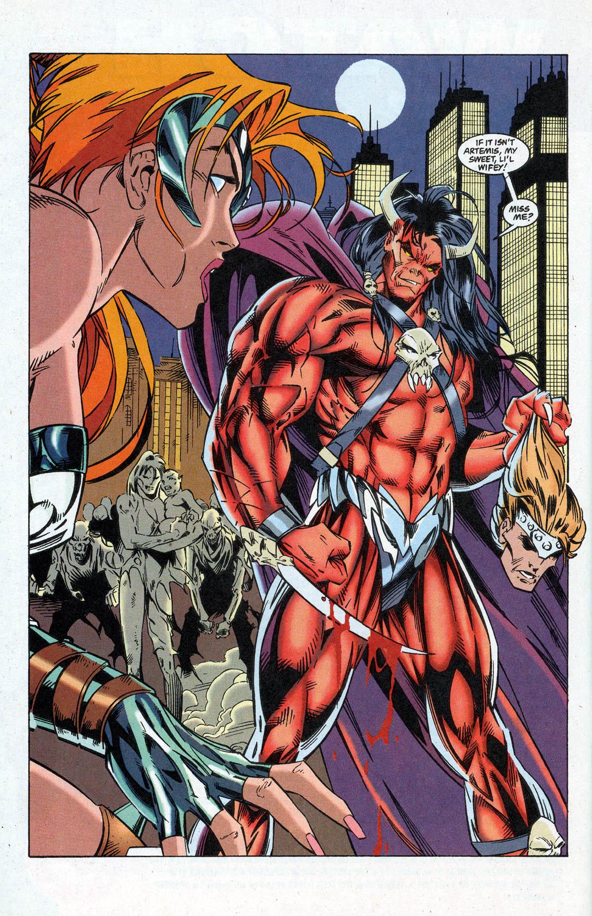 Read online Artemis: Requiem comic -  Issue #5 - 30