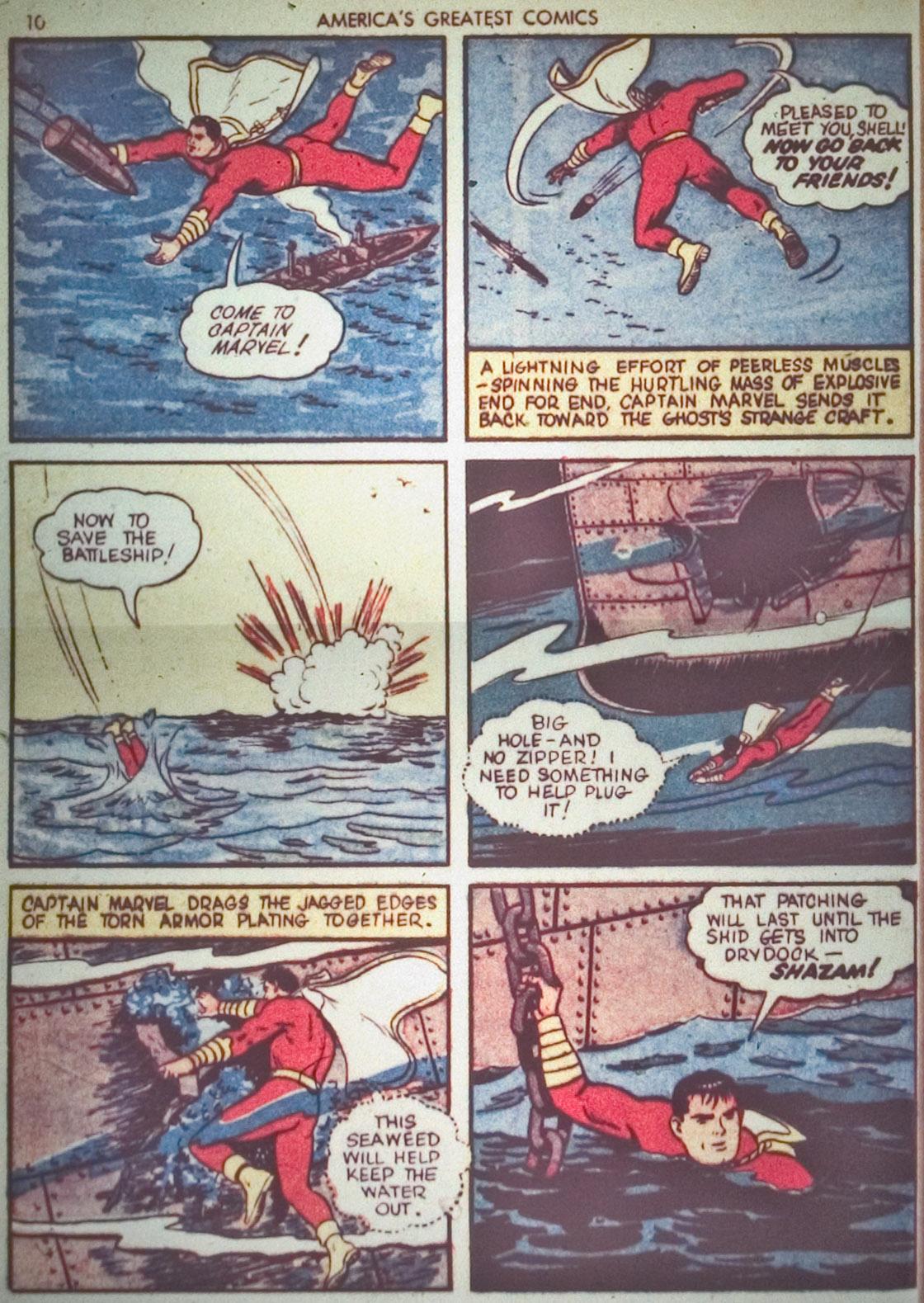 Read online America's Greatest Comics comic -  Issue #1 - 13