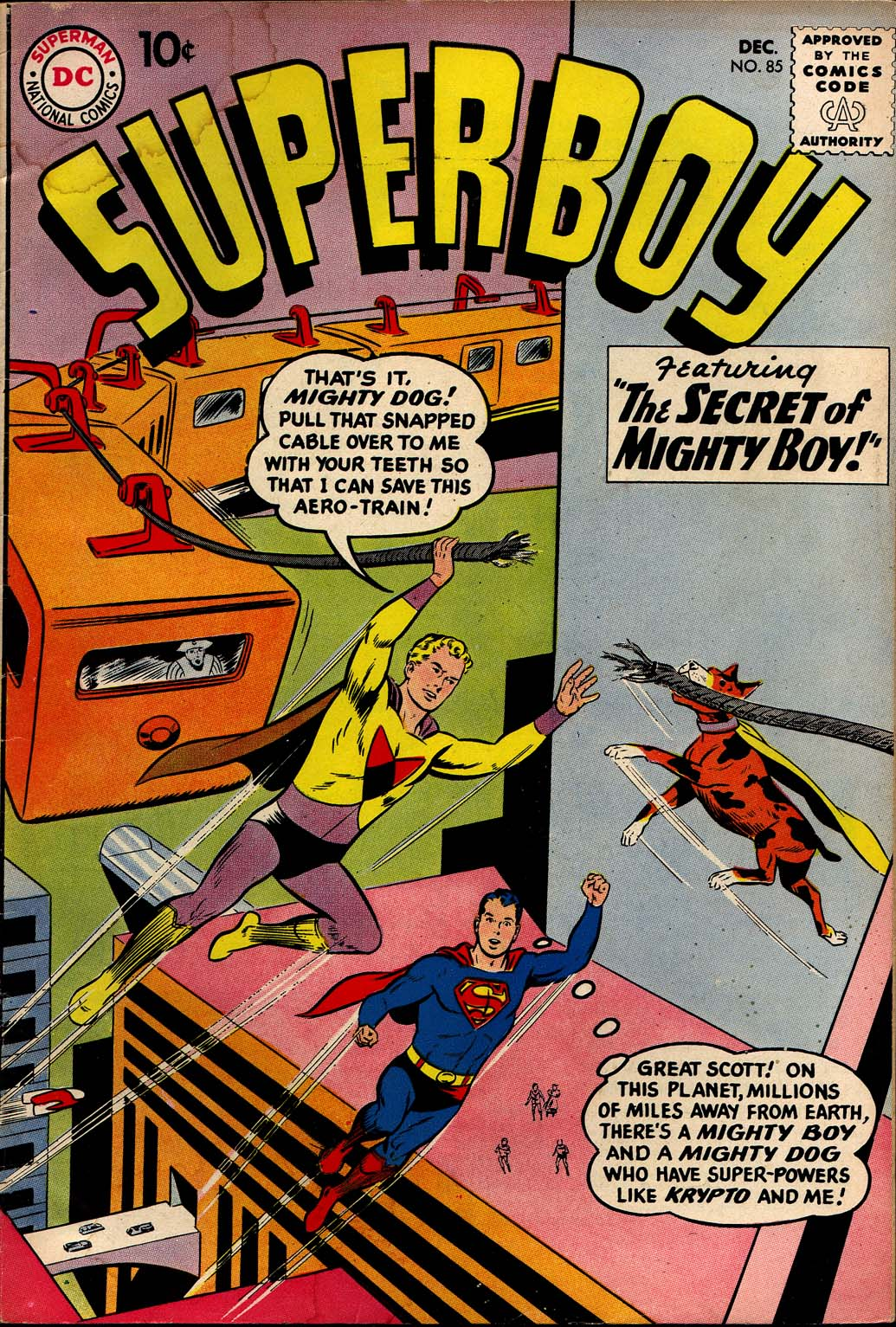 Superboy (1949) issue 85 - Page 1