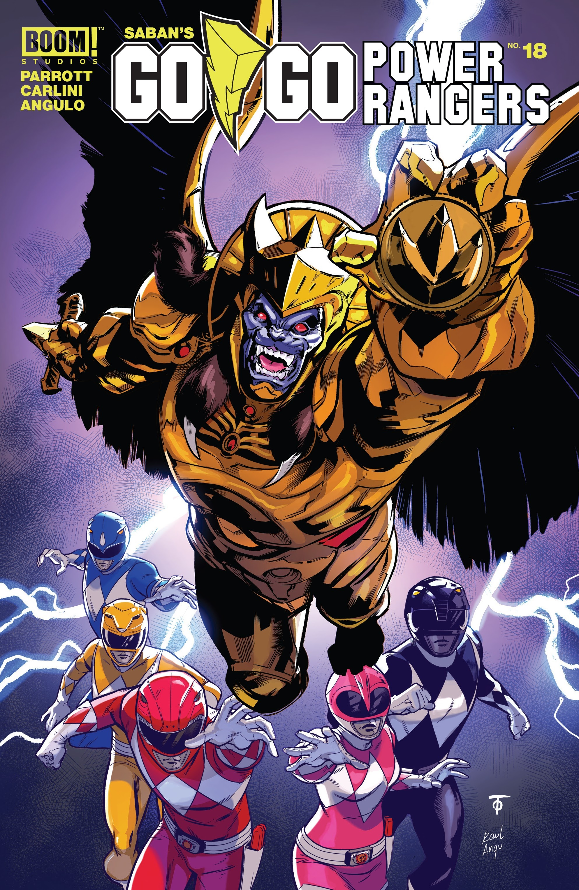 Sabans Go Go Power Rangers 18 Page 1