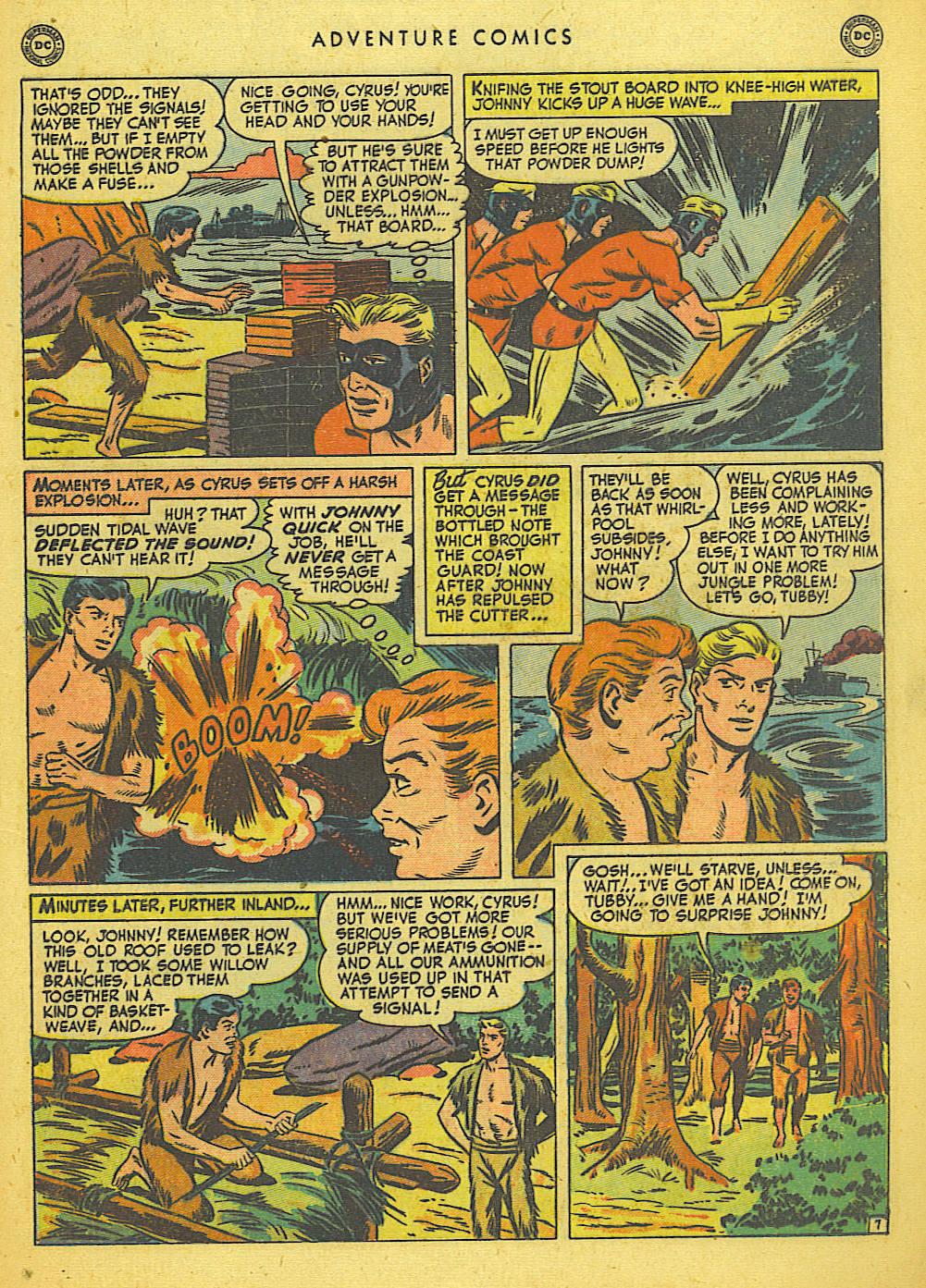 Read online Adventure Comics (1938) comic -  Issue #155 - 23