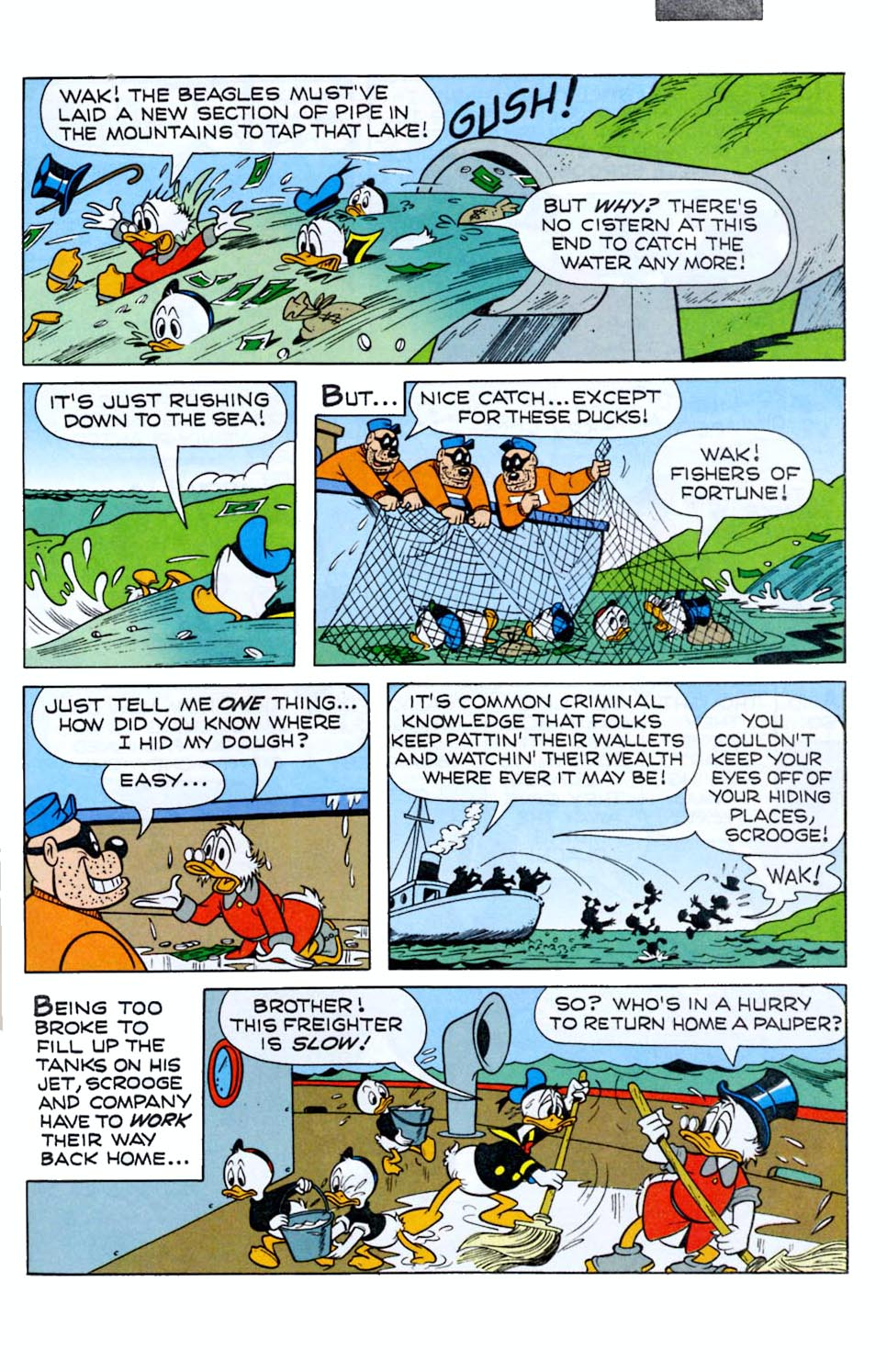 Read online Uncle Scrooge (1953) comic -  Issue #290 - 27