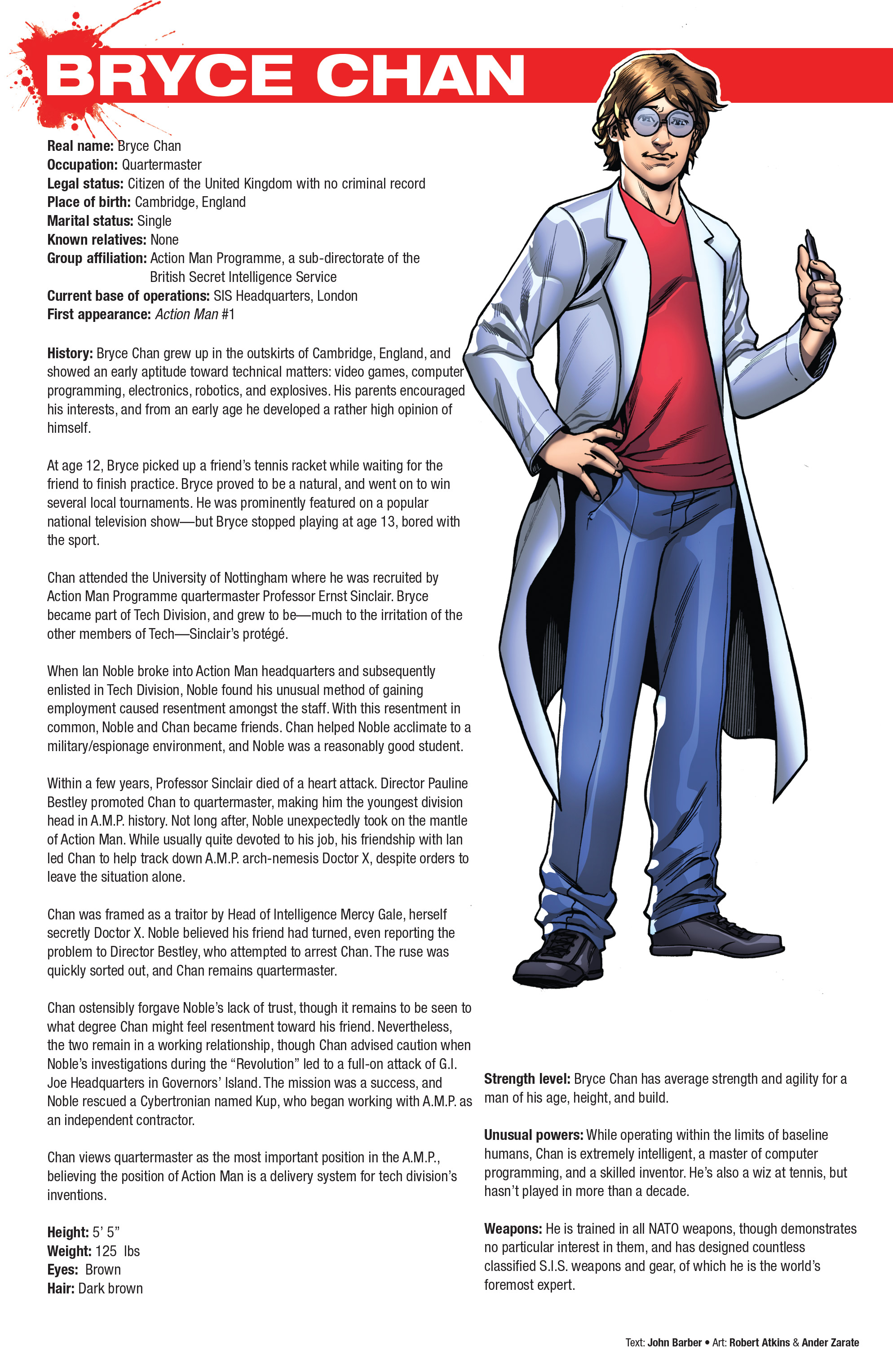 Read online Hasbro Heroes Sourcebook comic -  Issue #1 - 29