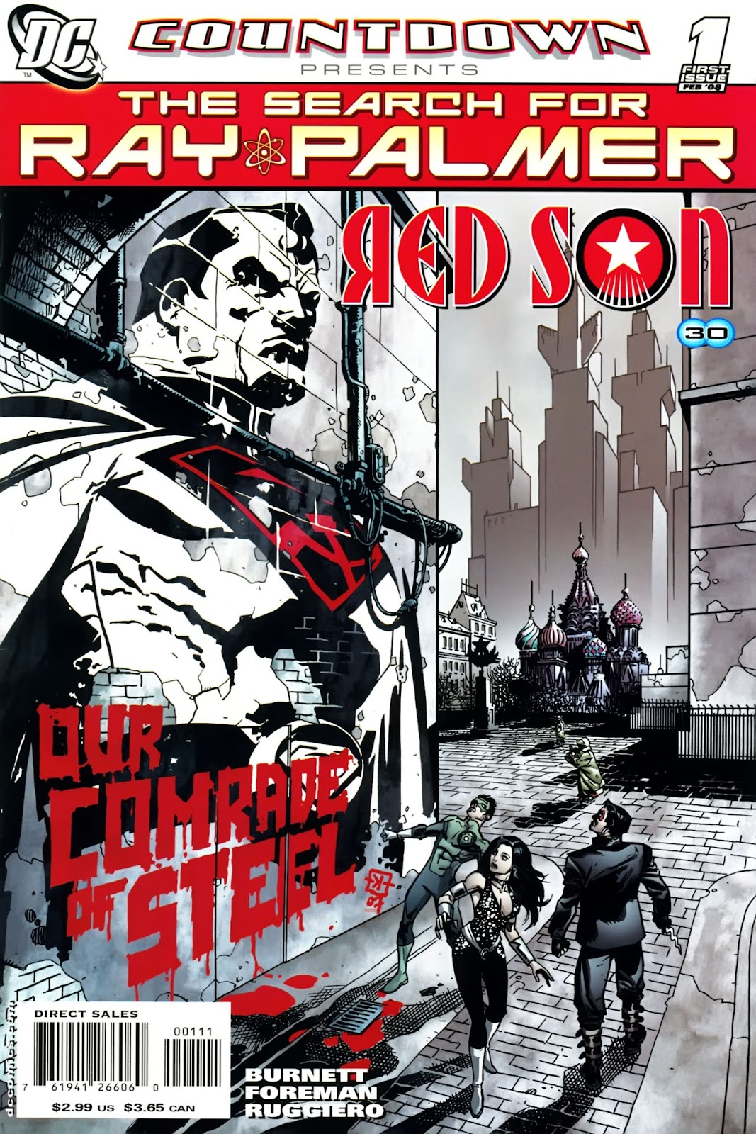 Countdown Presents: The Search for Ray Palmer issue Red Son (2008) - Page 1