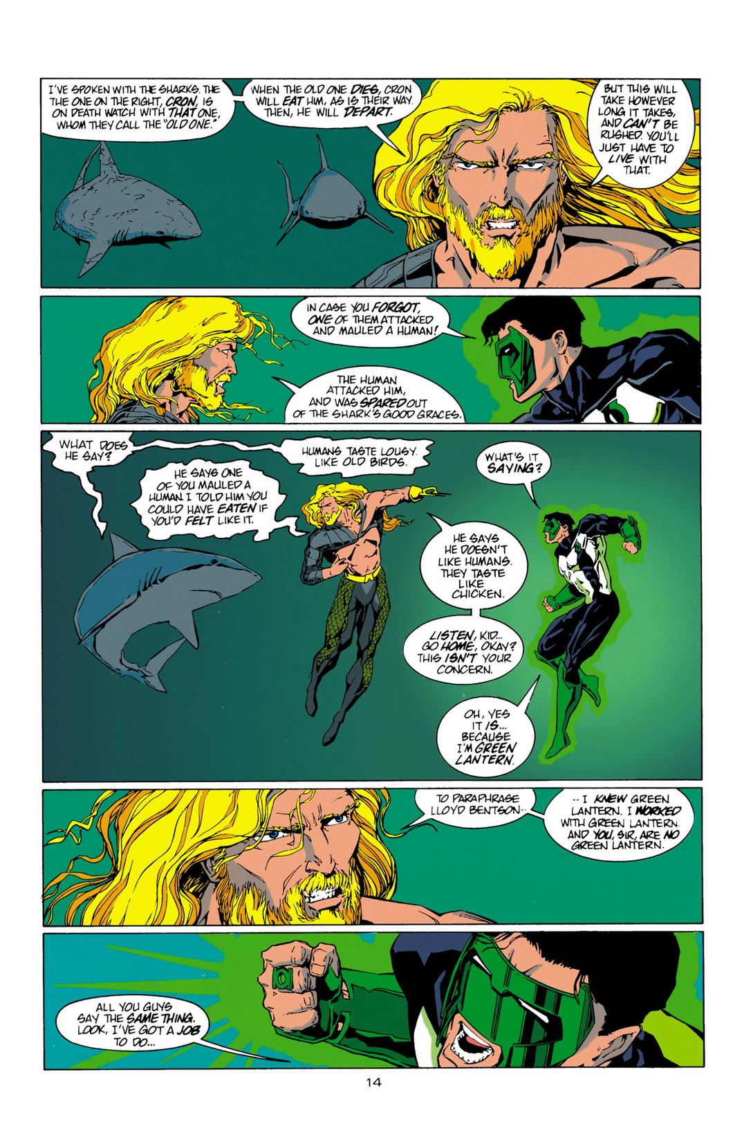 Read online Aquaman (1994) comic -  Issue #10 - 15