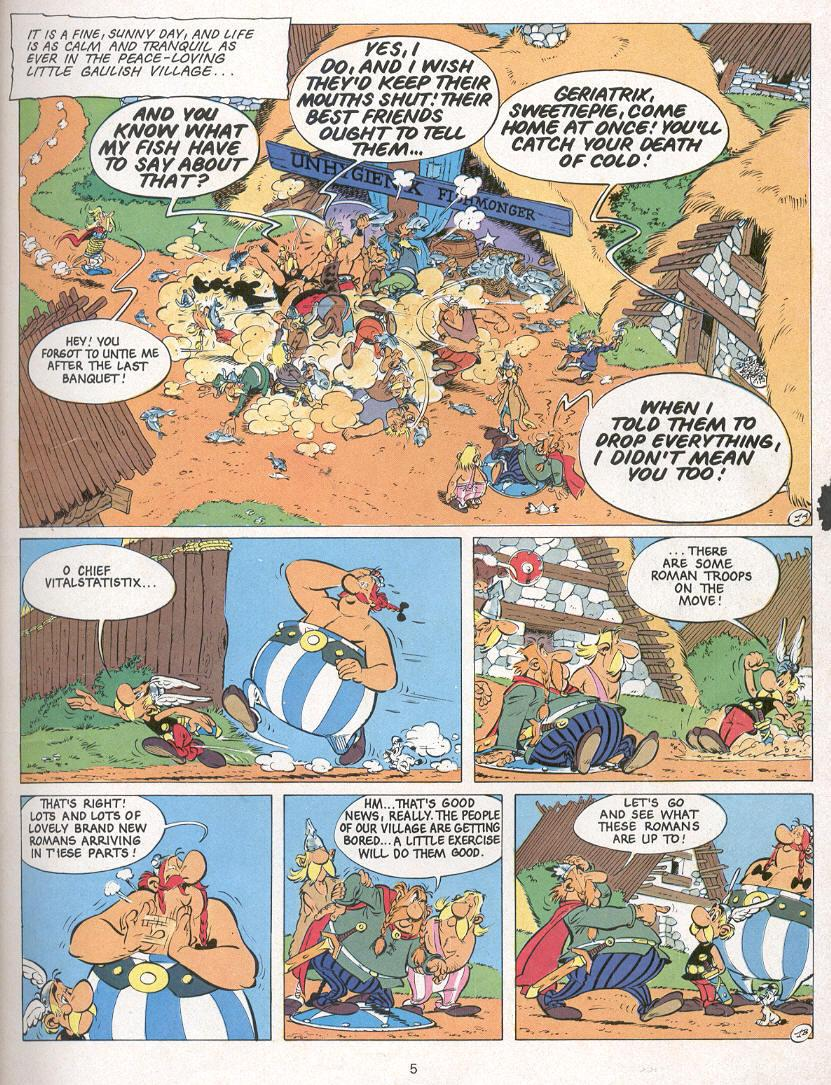 Read online Asterix comic -  Issue #24 - 2