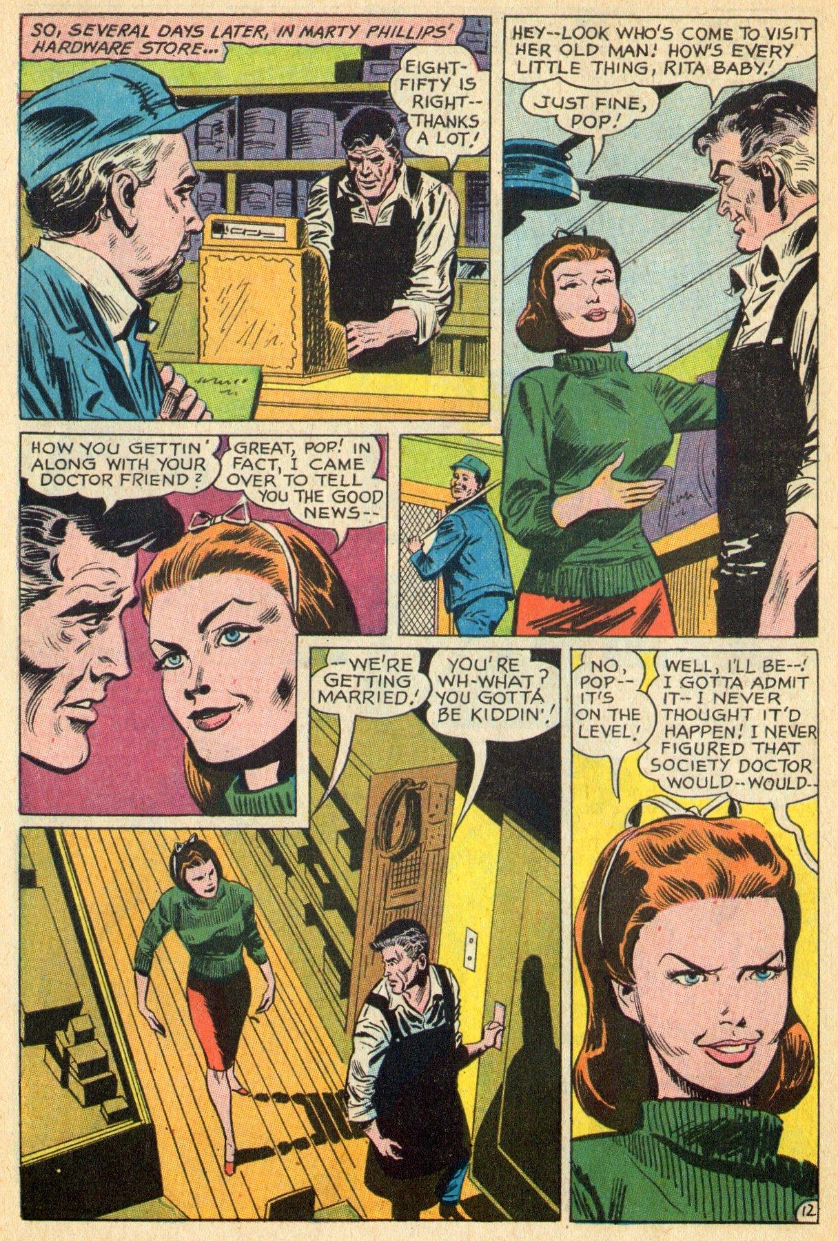 Read online Secret Hearts comic -  Issue #119 - 30