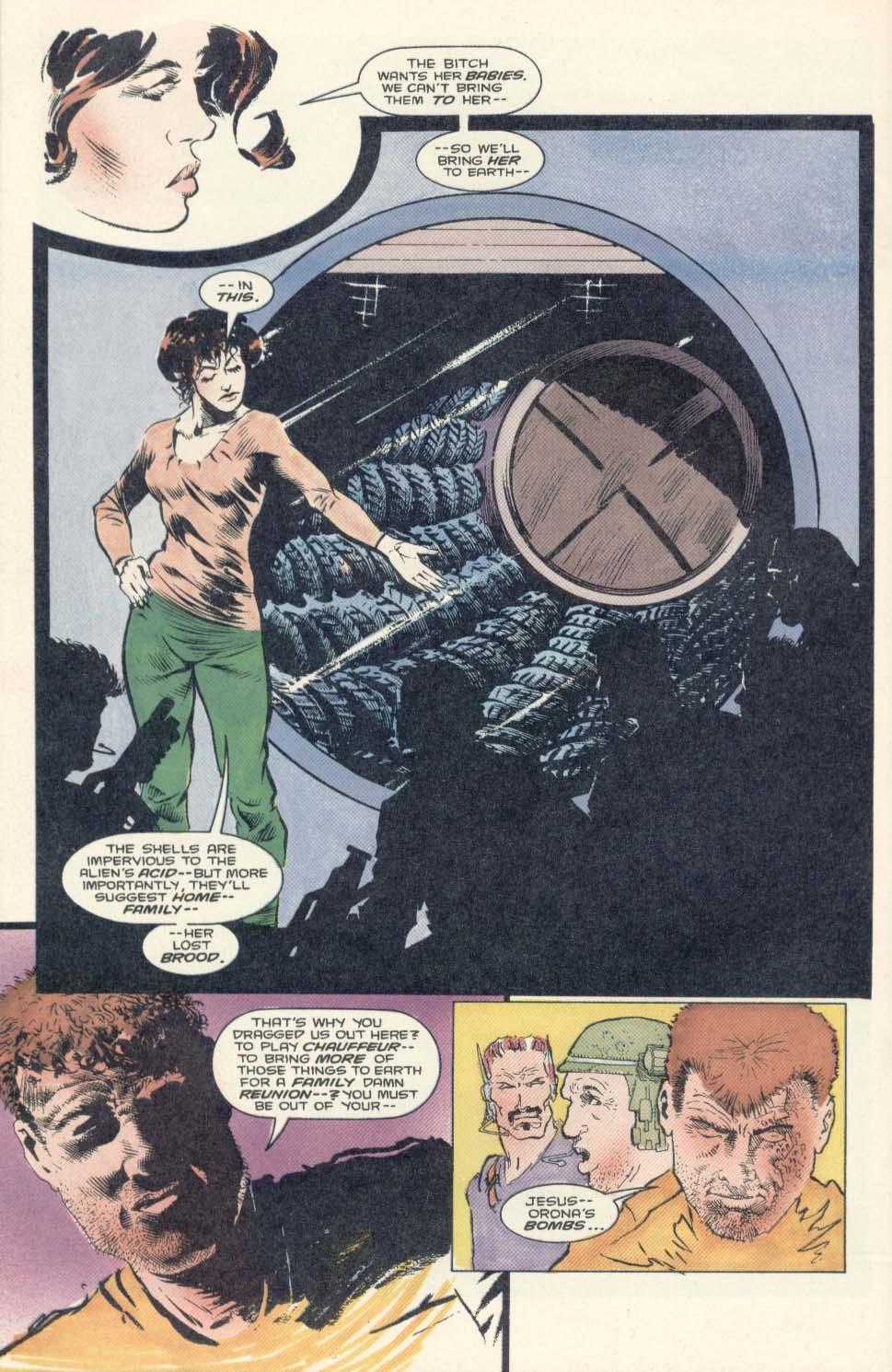Read online Aliens: Earth War comic -  Issue #2 - 24