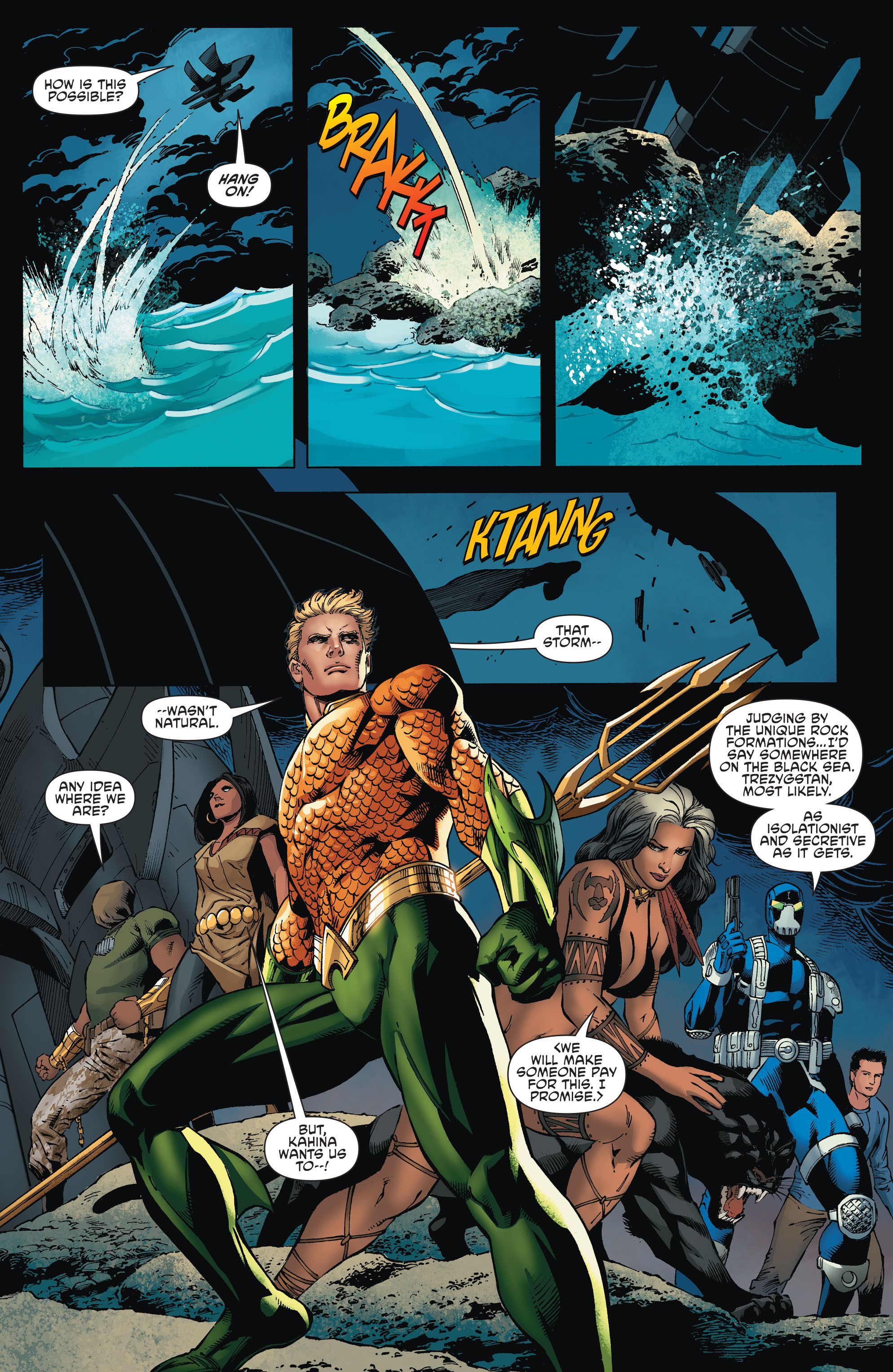 Read online Aquaman and the Others comic -  Issue #2 - 18