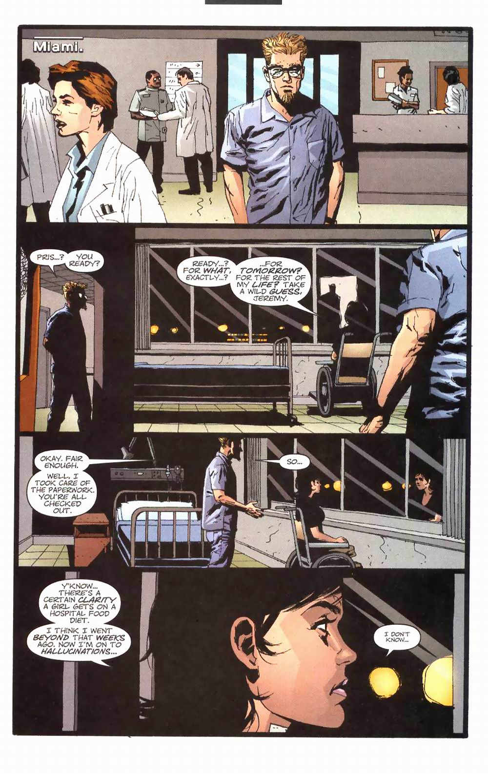 Wildcats (1999) Issue #24 #25 - English 7