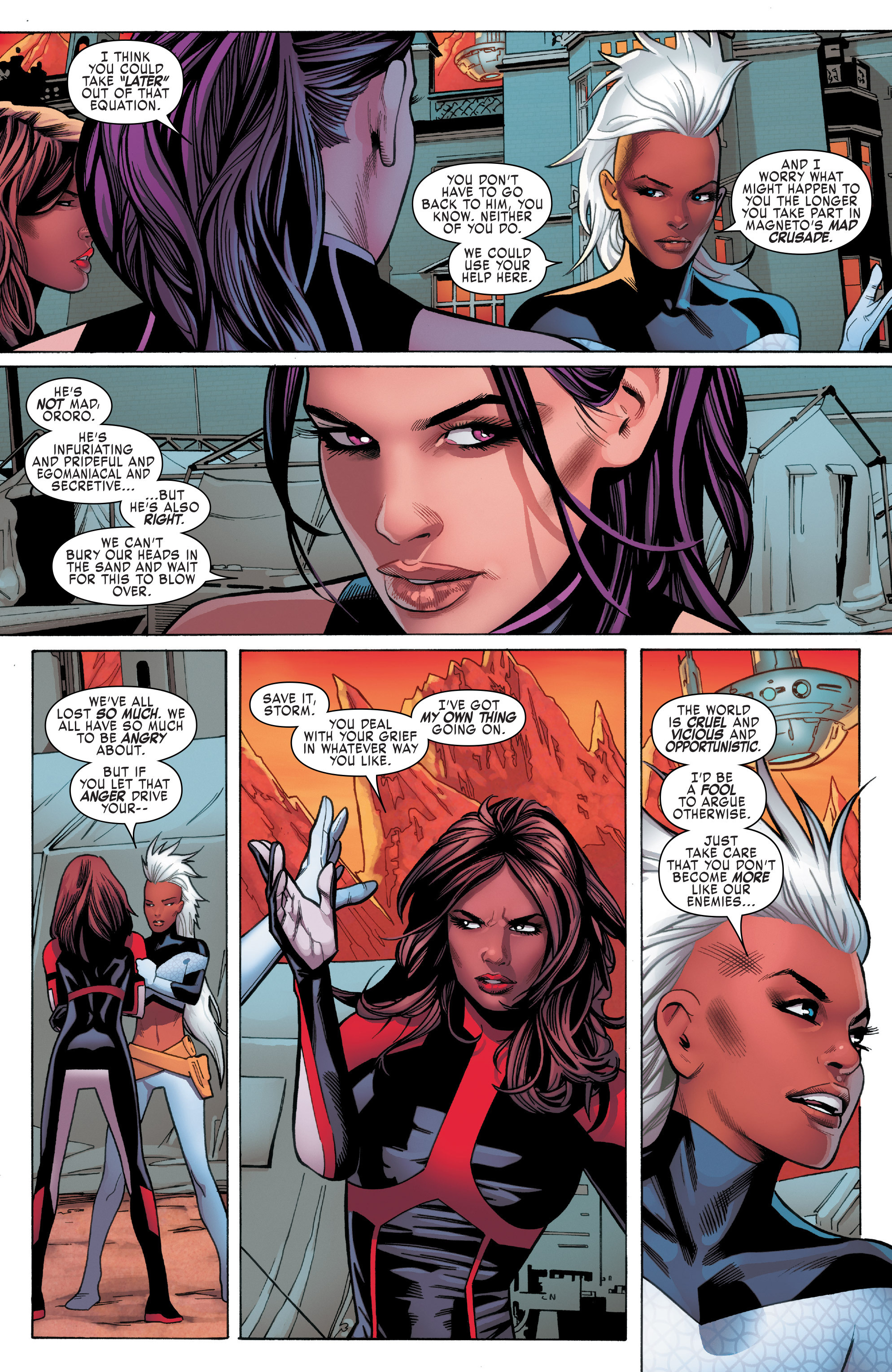 Read online Uncanny X-Men (2016) comic -  Issue #5 - 15