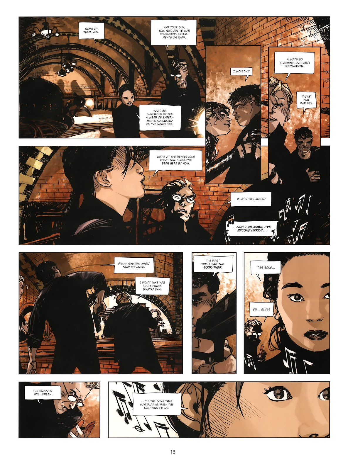 Read online Cutting Edge (2013) comic -  Issue #4 - 12