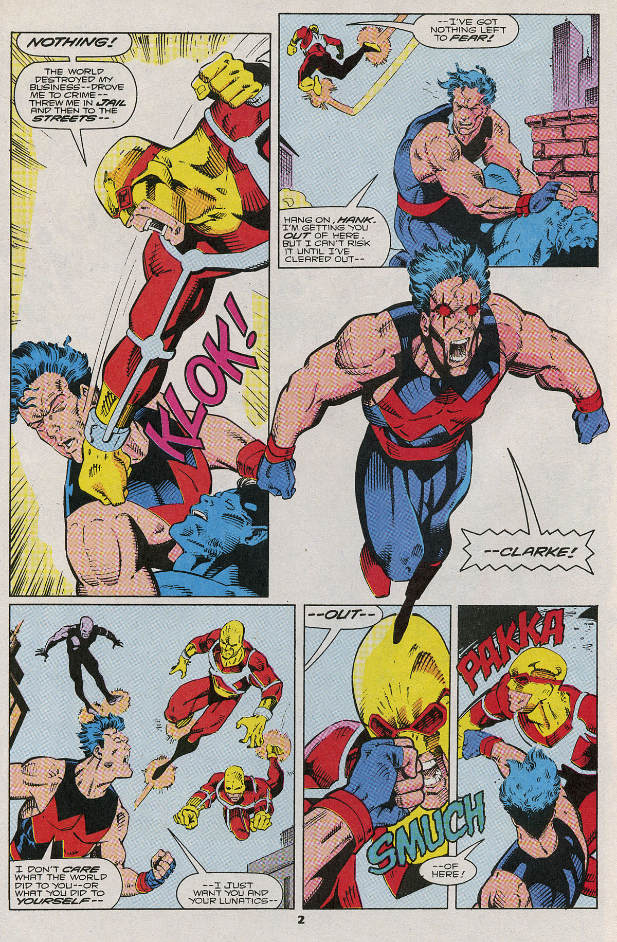 Read online Wonder Man (1991) comic -  Issue #6 - 3