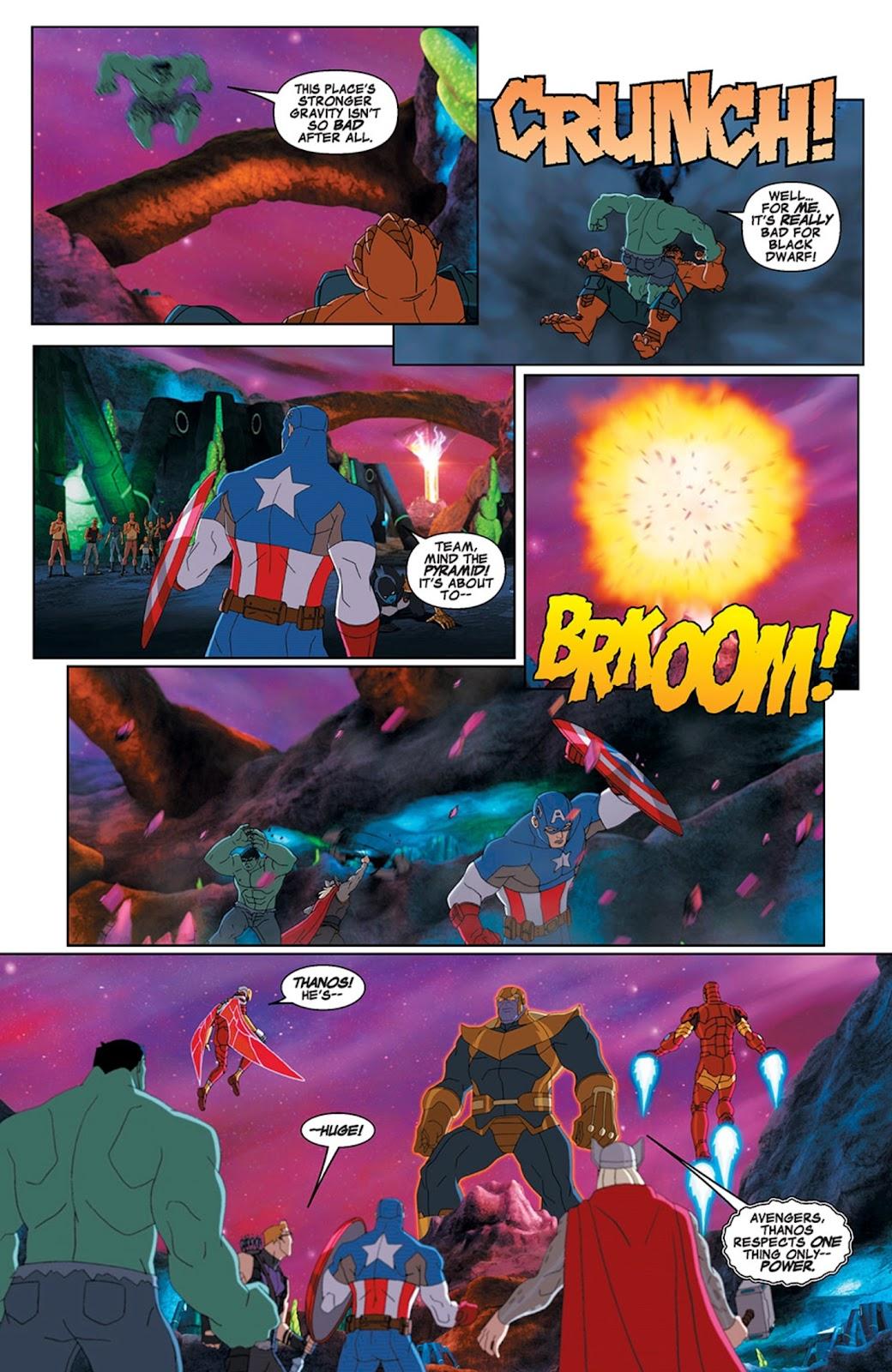 Read online Marvel Universe Avengers Assemble Season 2 comic -  Issue #15 - 20
