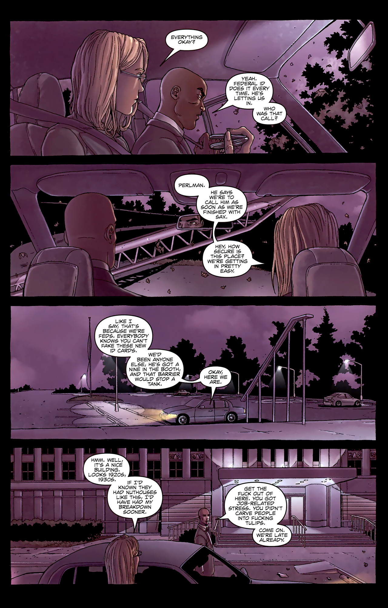 Read online Alan Moore's Neonomicon comic -  Issue #1 - 13