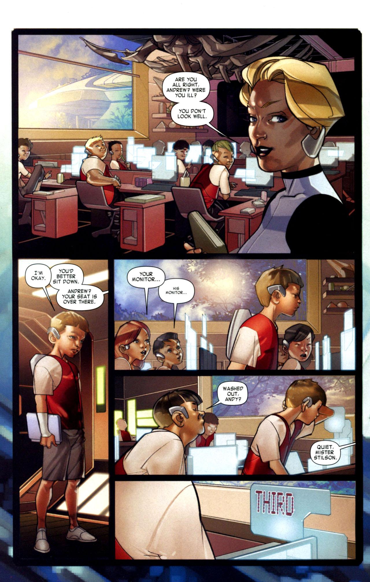 Read online Ender's Game: Battle School comic -  Issue #1 - 7