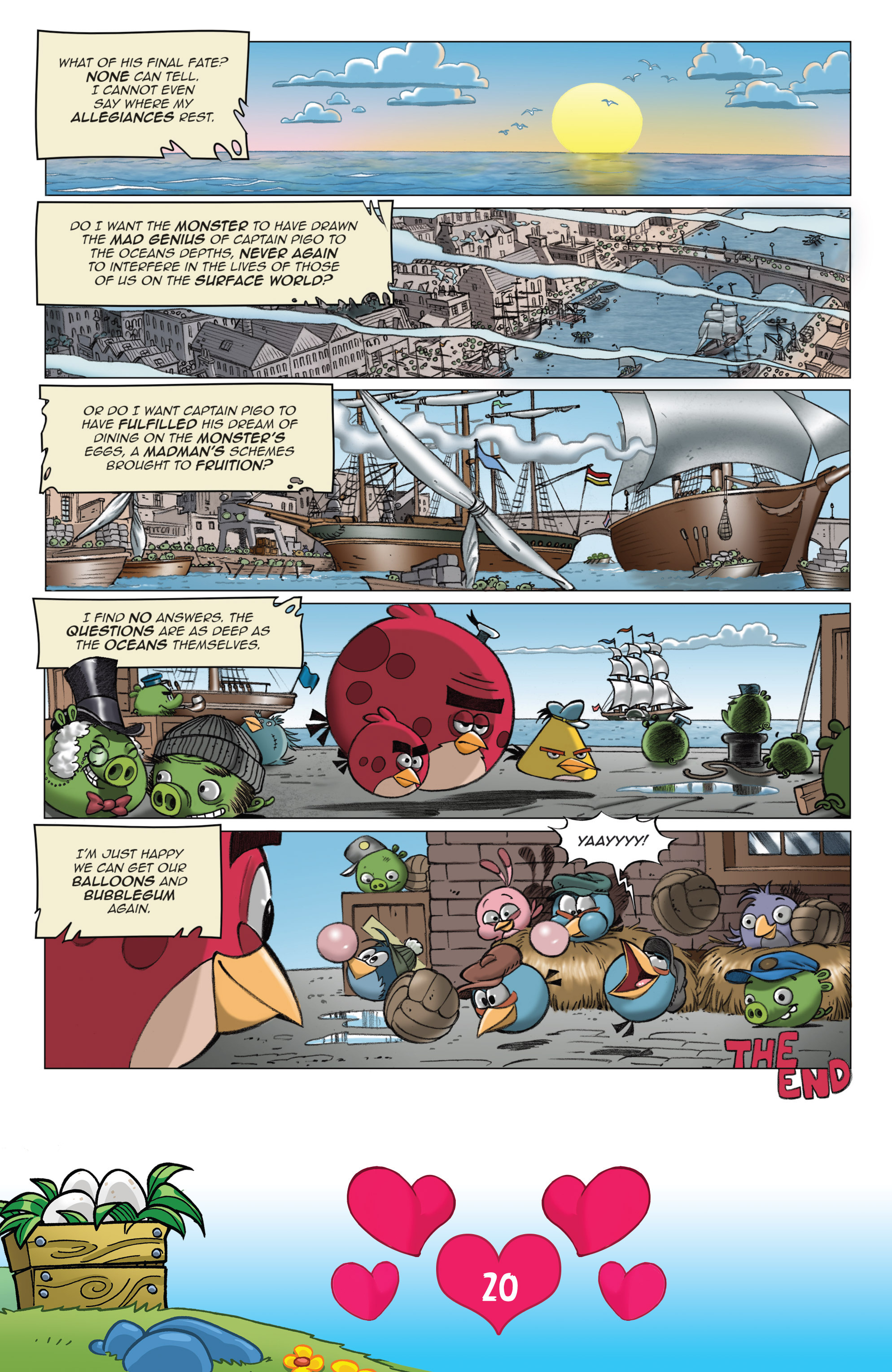 Read online Angry Birds Comics (2016) comic -  Issue #2 - 22