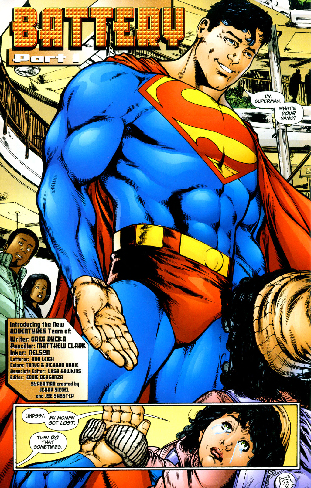 Read online Adventures of Superman (1987) comic -  Issue #627 - 3