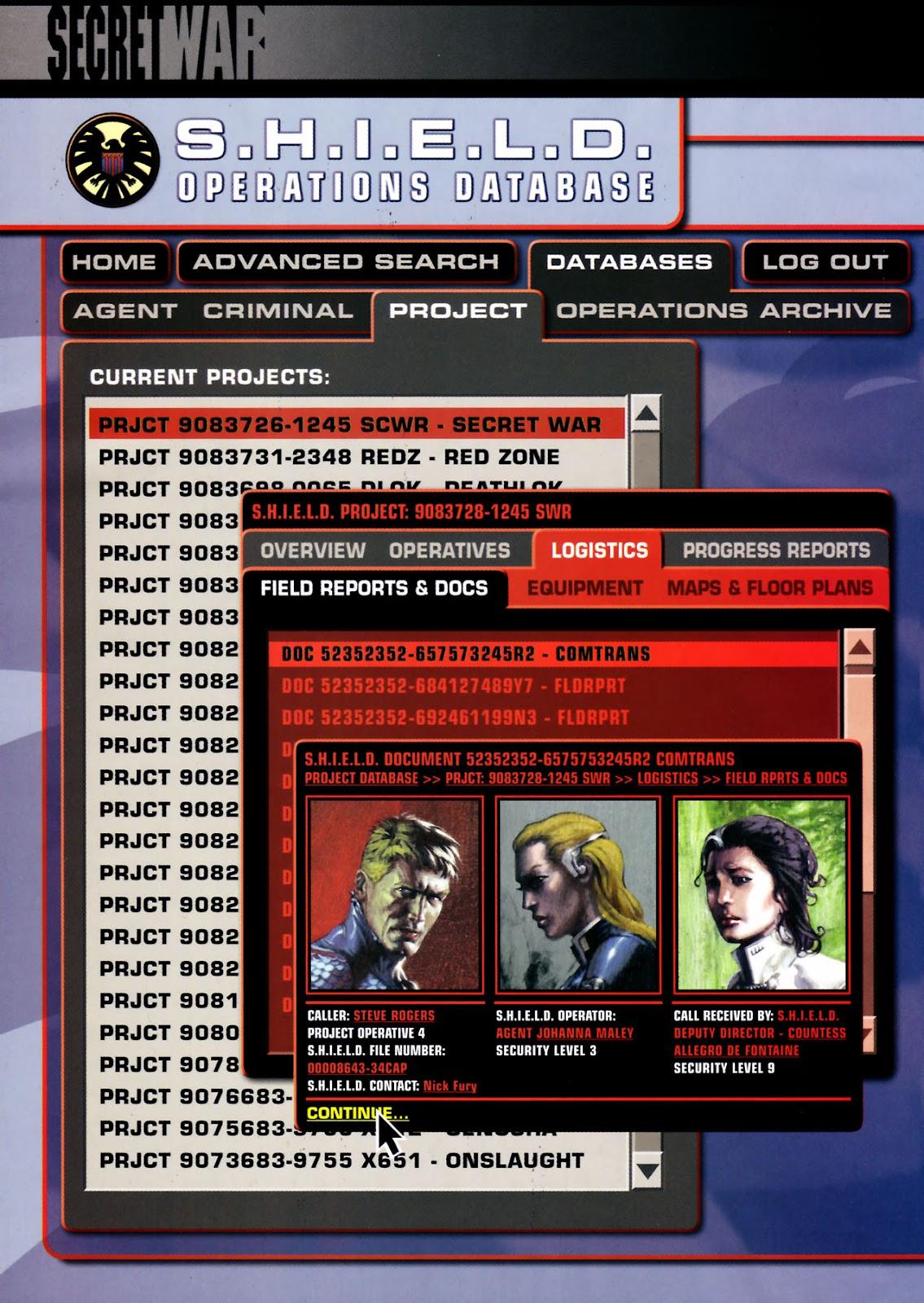 Read online Secret War comic -  Issue #3 - 24