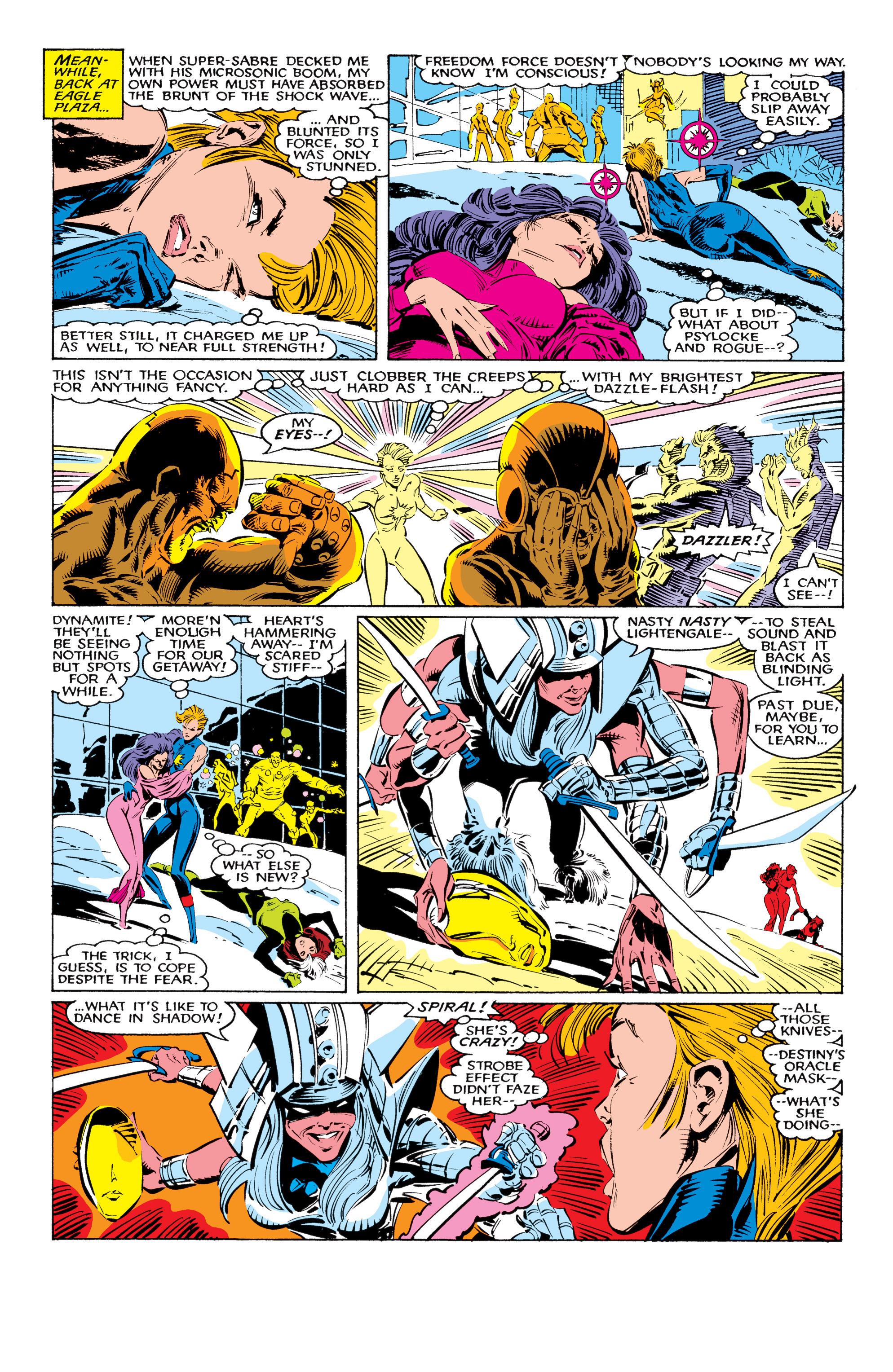 Read online Uncanny X-Men (1963) comic -  Issue #226 - 6
