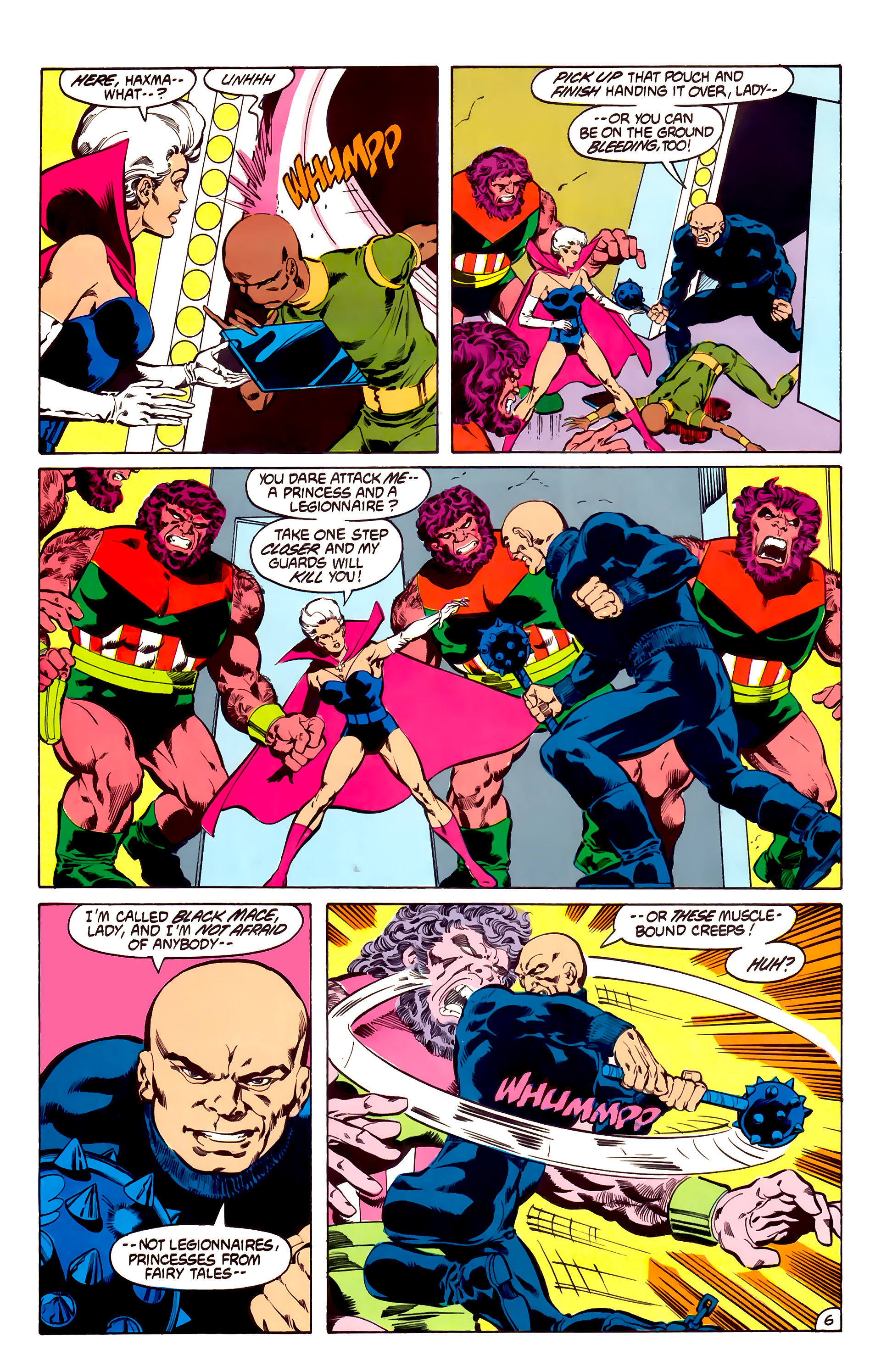 Legion of Super-Heroes (1984) 31 Page 6