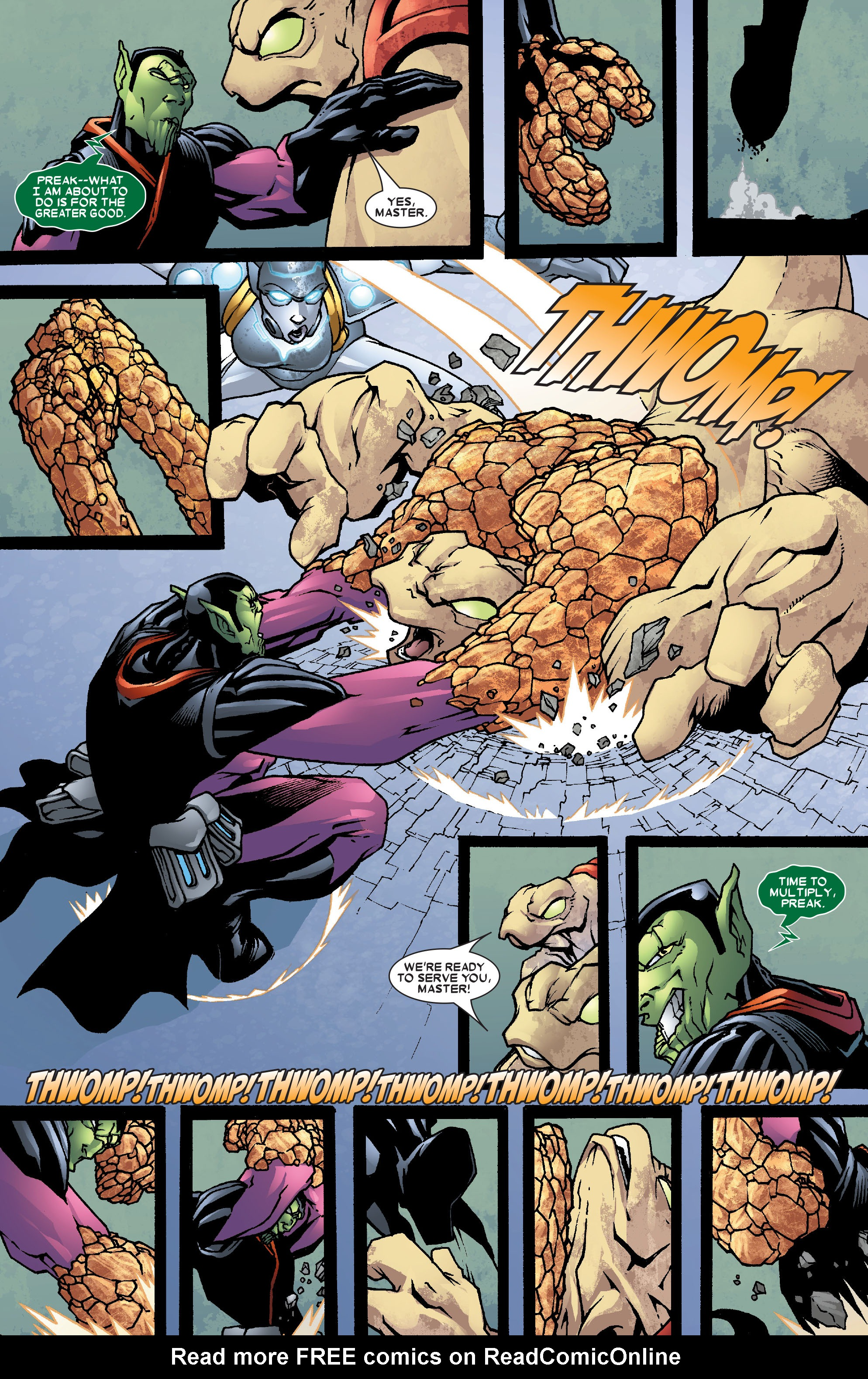 Read online Annihilation: Super-Skrull comic -  Issue #3 - 8