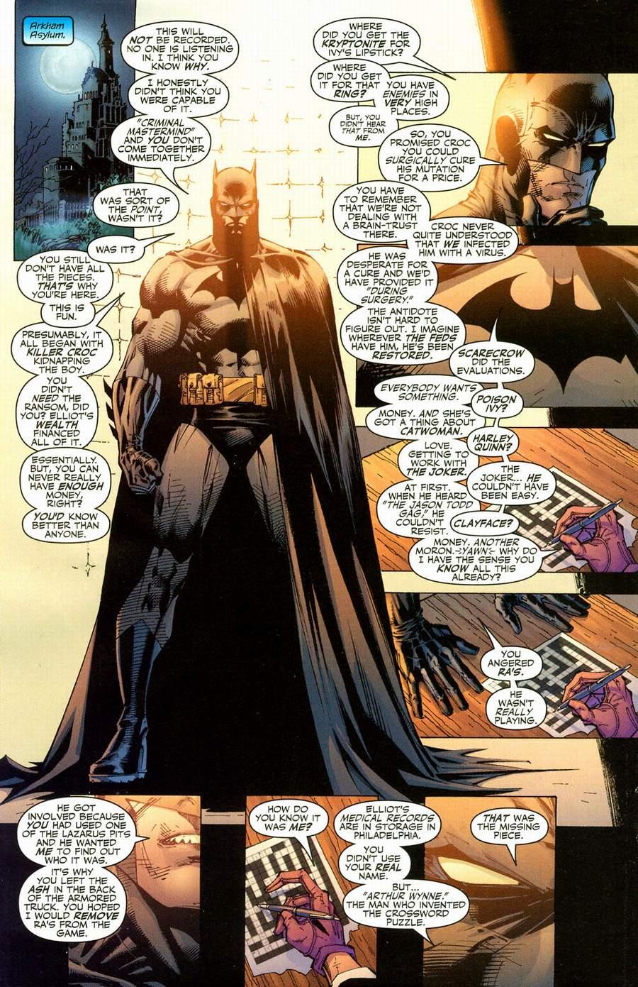 Read online Batman: Hush comic -  Issue #12 - 18