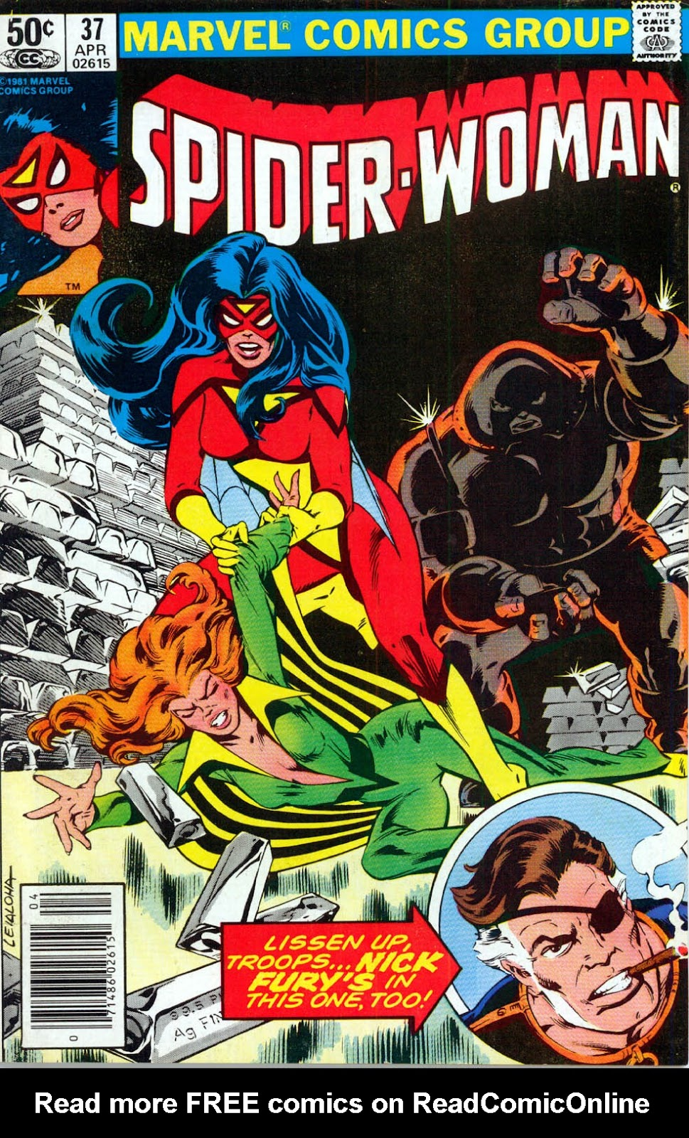 Spider-Woman (1978) issue 37 - Page 1